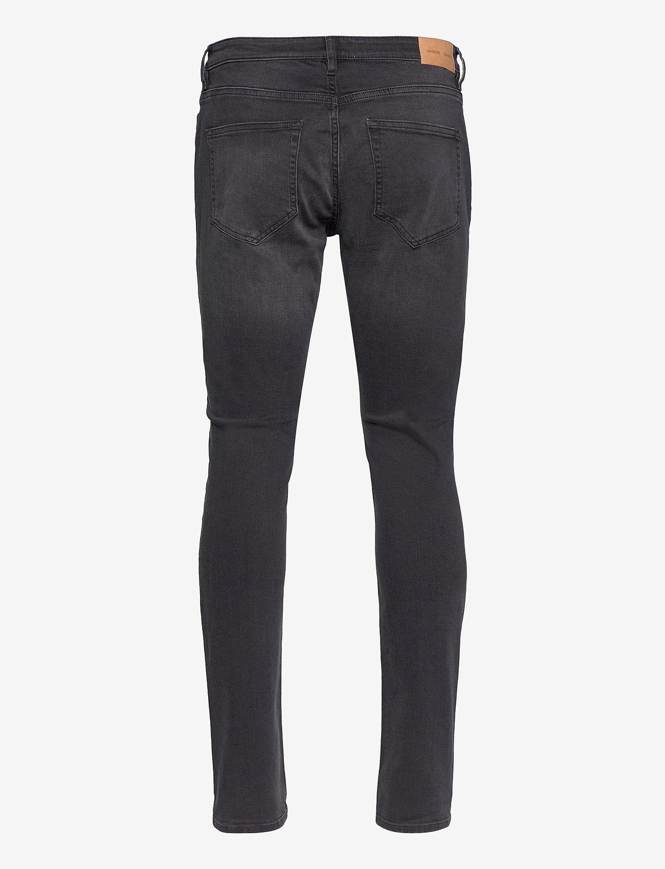 Samsøe Samsøe - Stefan jean 5891 - džinsa bikses ar tievām starām - worn black - 1