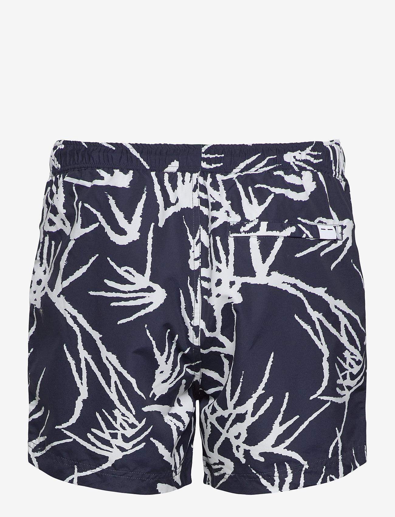 Samsøe Samsøe - Mason swim shorts aop 6956 - badehosen - night sky palm - 1