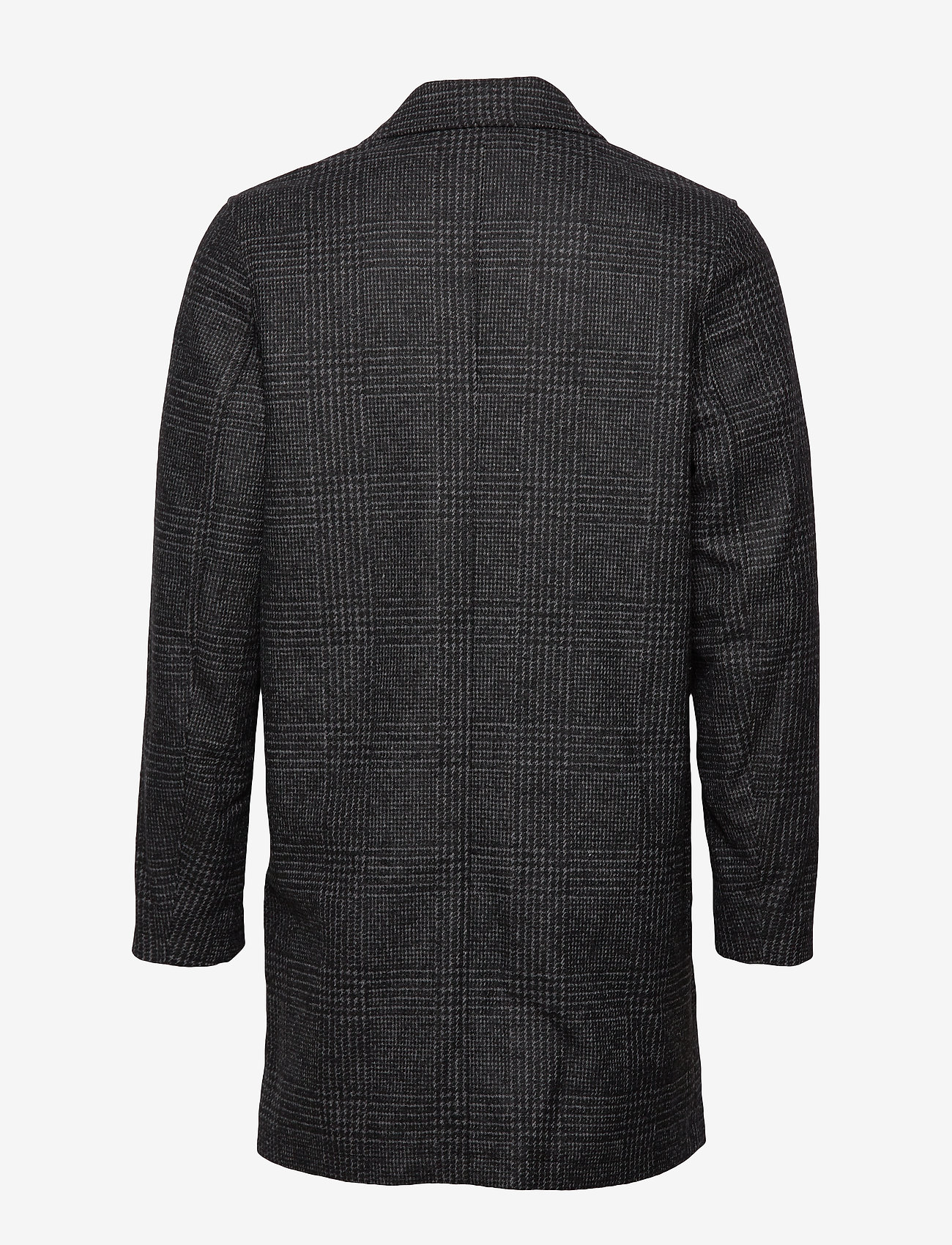 Samsøe Samsøe - Grin coat 11122 - wool coats - black ch. - 1