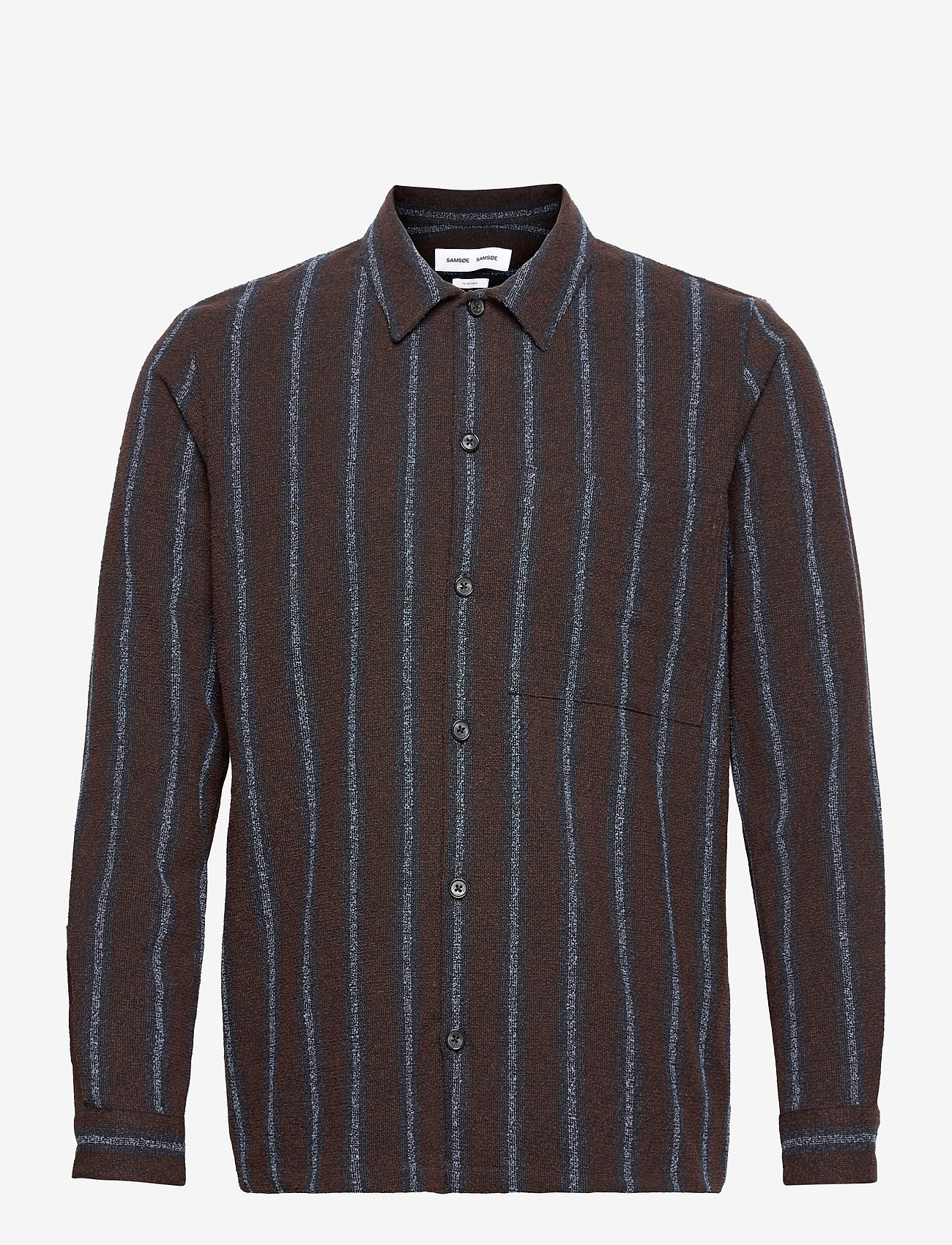 Samsøe Samsøe - Taka JY shirt 12972 - chemises à carreaux - black coffee st. - 0