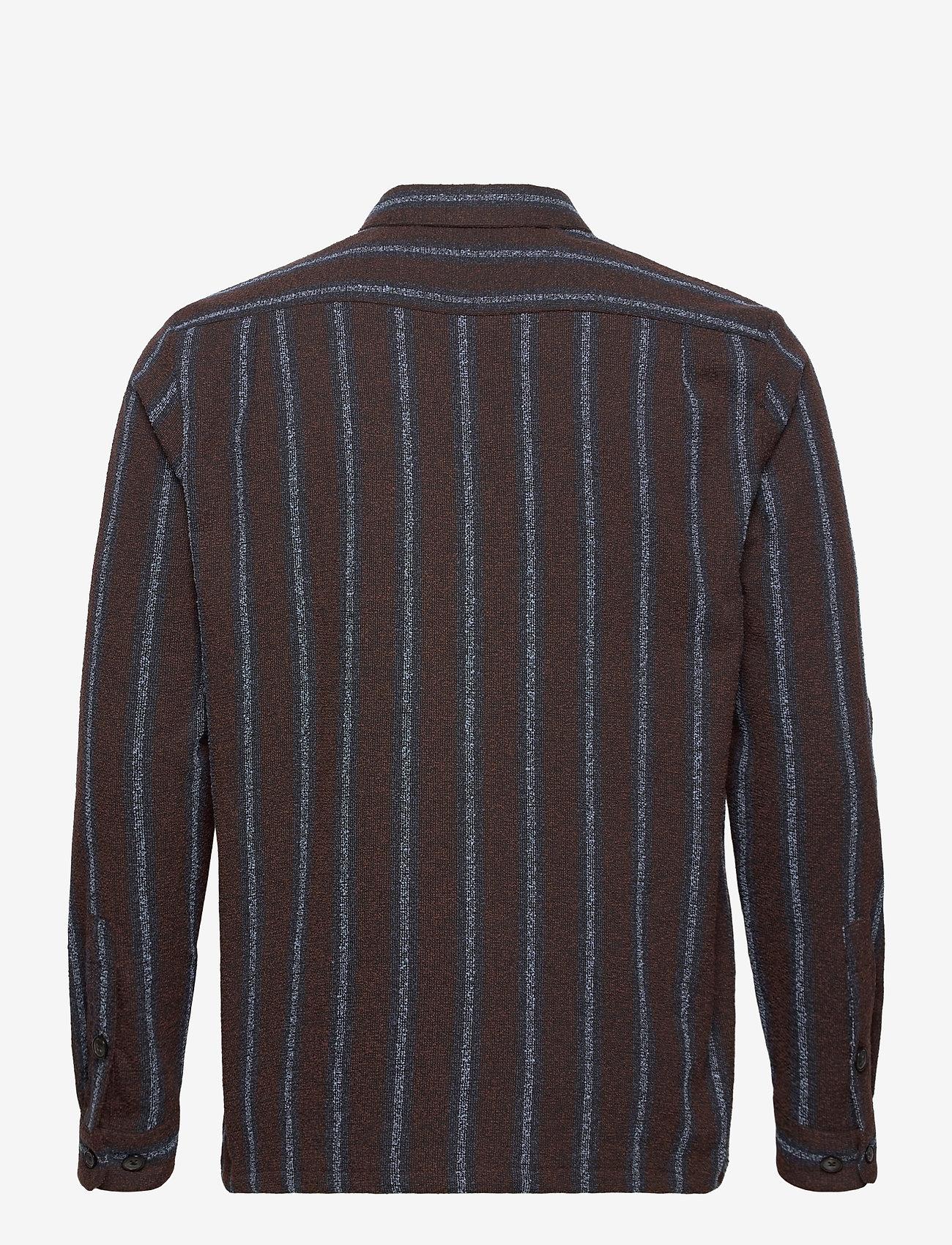 Samsøe Samsøe - Taka JY shirt 12972 - chemises à carreaux - black coffee st. - 1