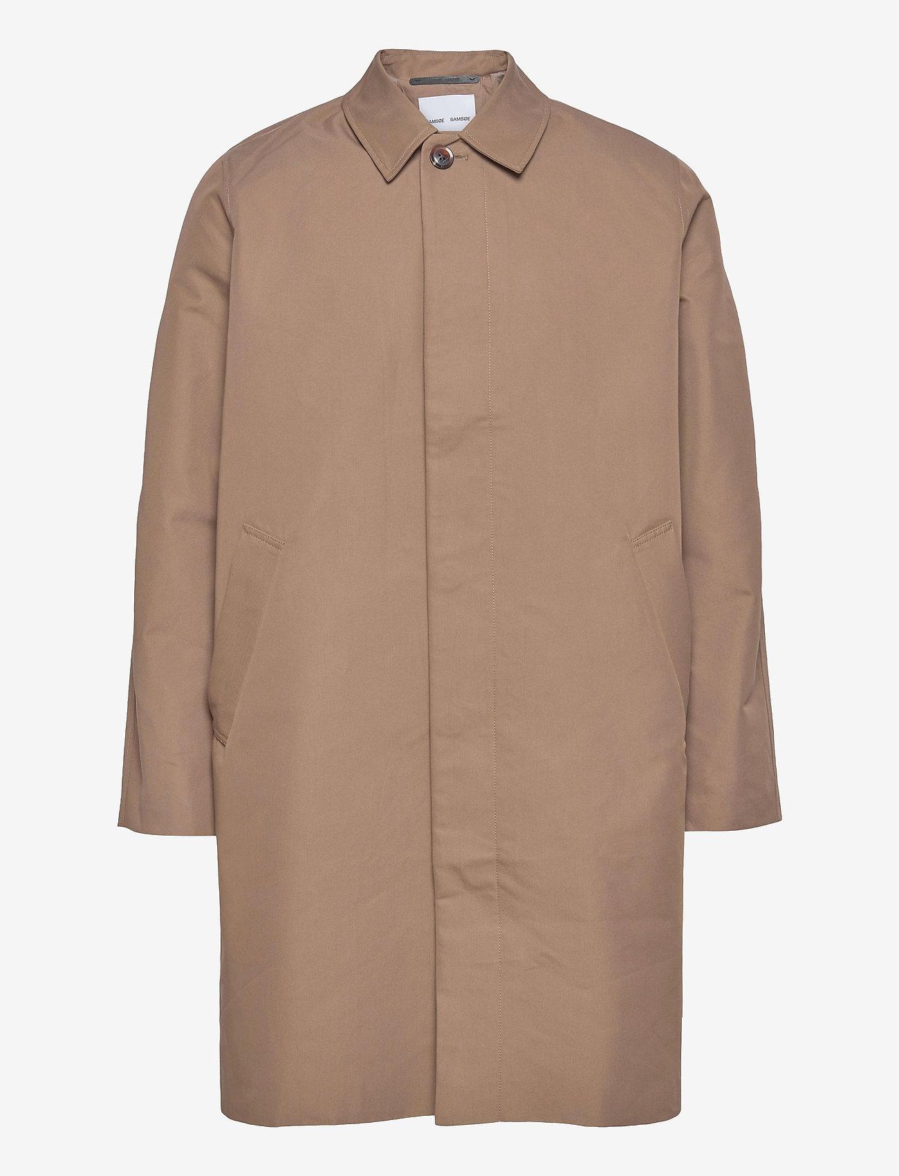 Samsøe Samsøe - Torrex coat 13105 - manteaux legères - caribou - 0