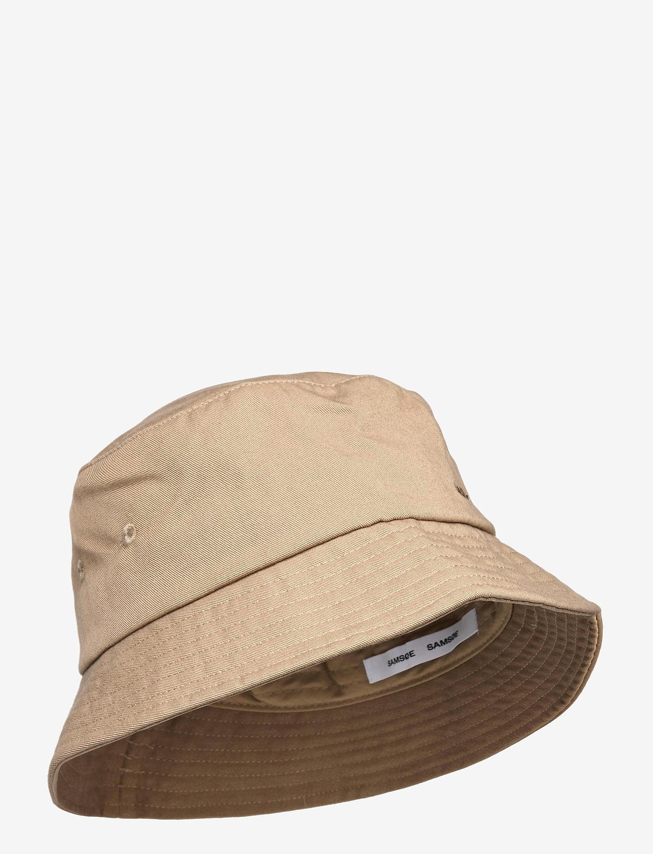 Samsøe Samsøe - Anton bucket hat 14061 - bonnets & casquettes - caribou - 0
