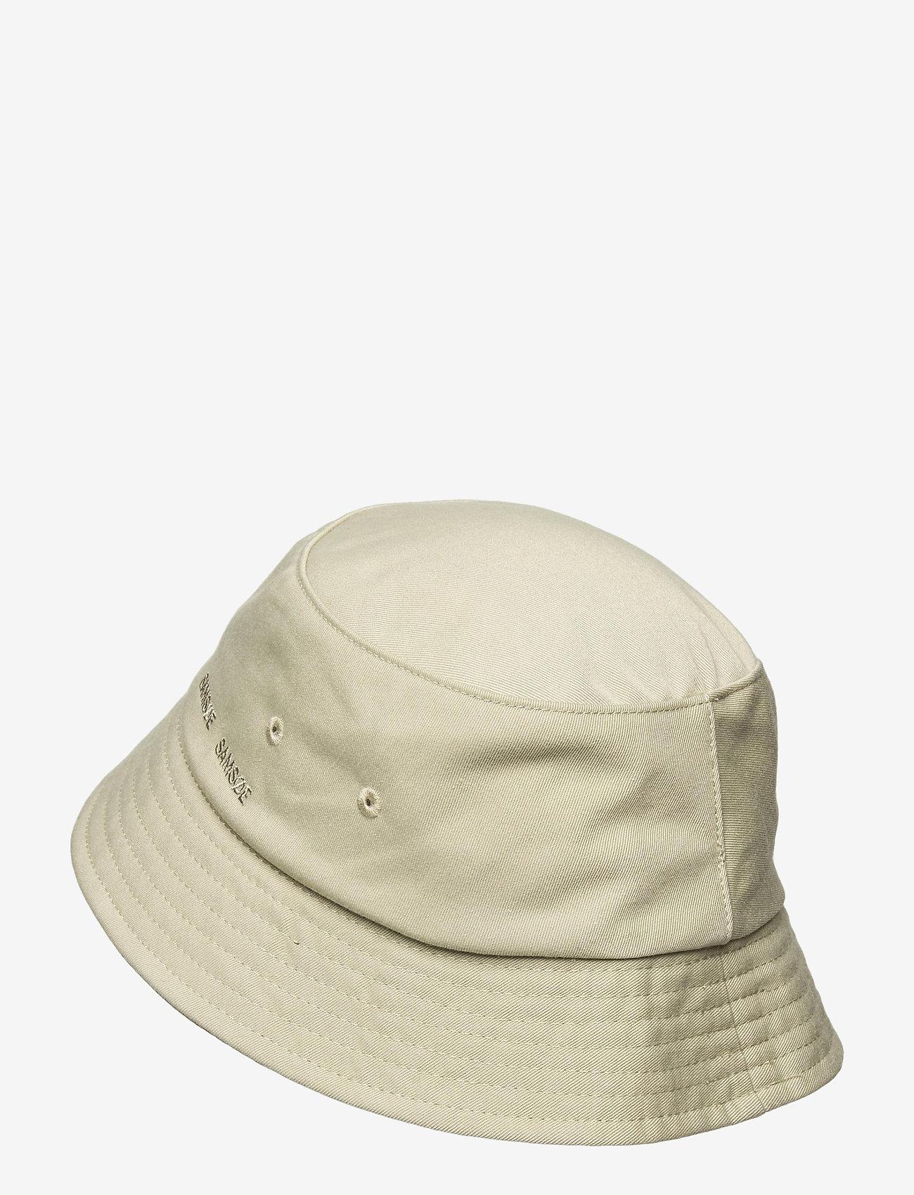 Samsøe Samsøe - Anton bucket hat 14061 - bonnets & casquettes - seagrass - 1