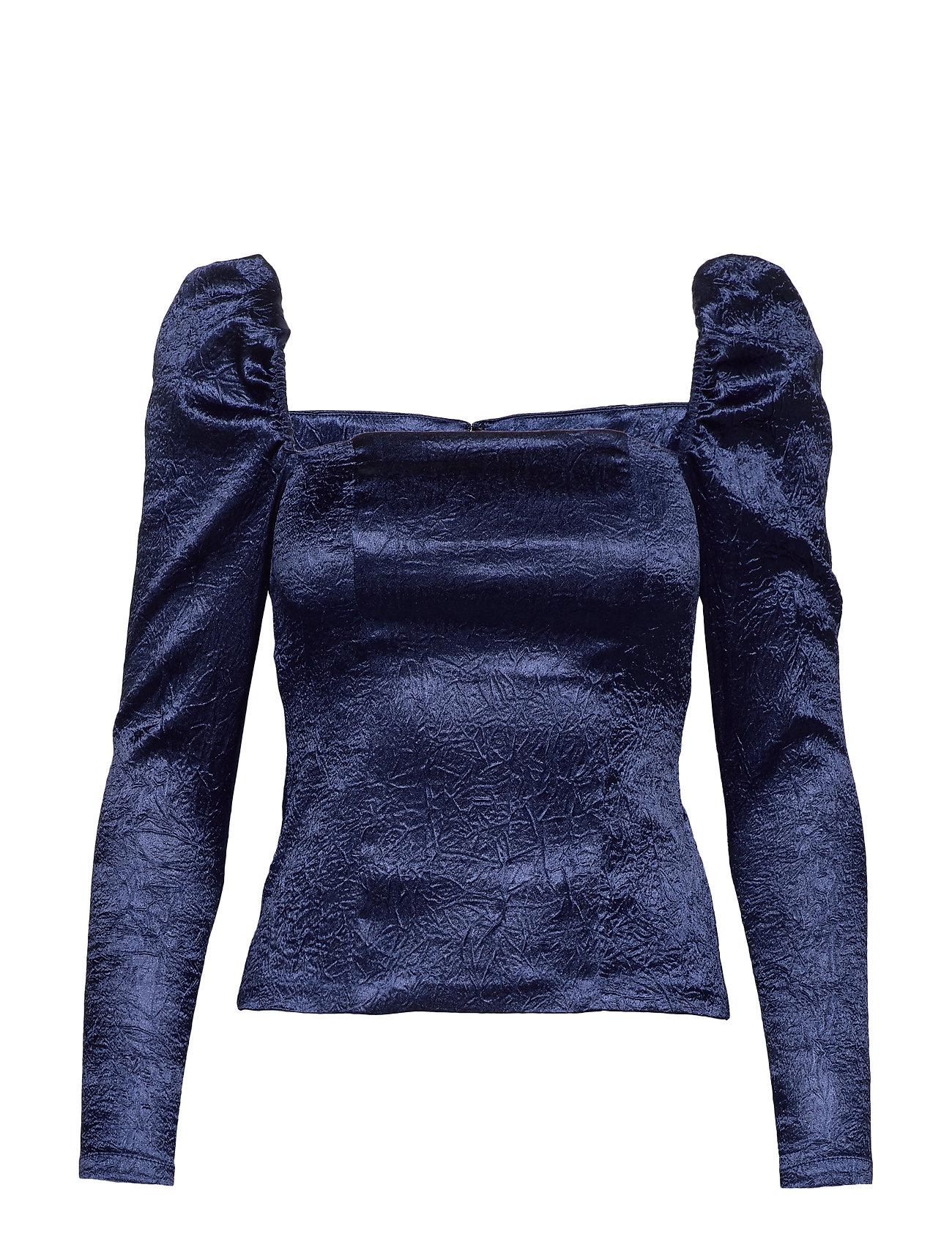 Samsøe & Samsøe Nomie blouse 12734 - BLUE DEPTHS