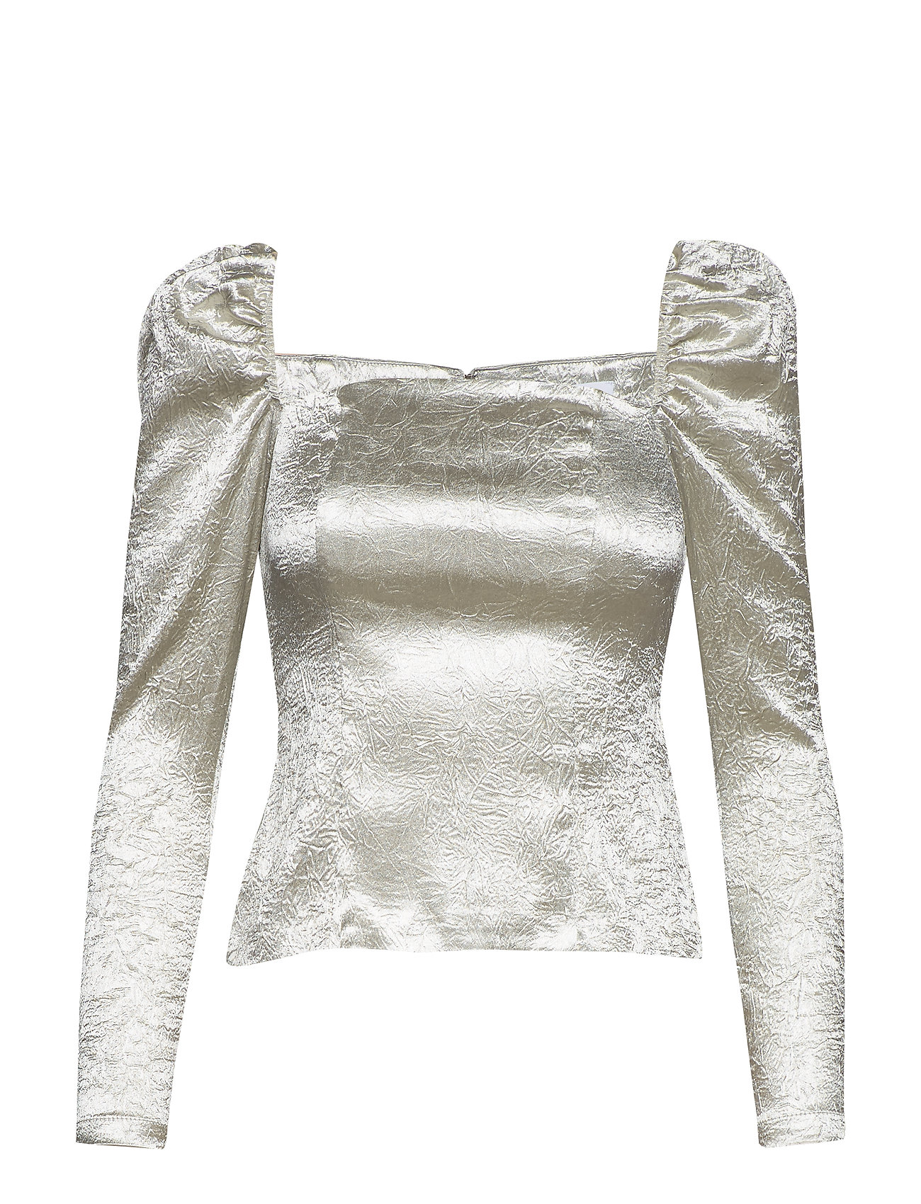 Samsøe & Samsøe Nomie blouse 12734 - CHAMPAGNE SHINE