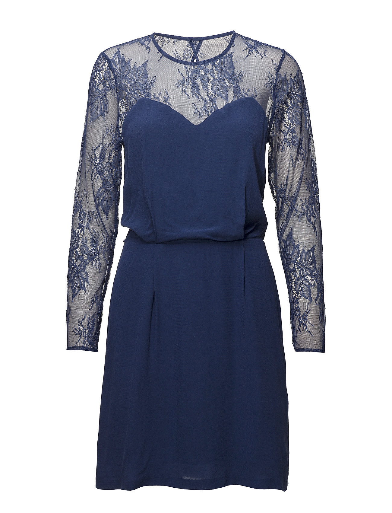Samsøe & Samsøe Willow s ls dress 10056 - BLUE DEPTHS