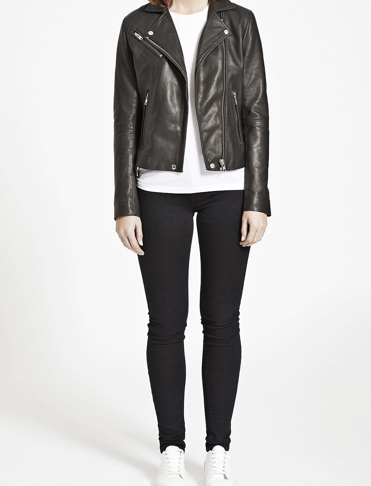 Samsøe Samsøe - Duris jacket 7248 - nahkatakit - black - 0