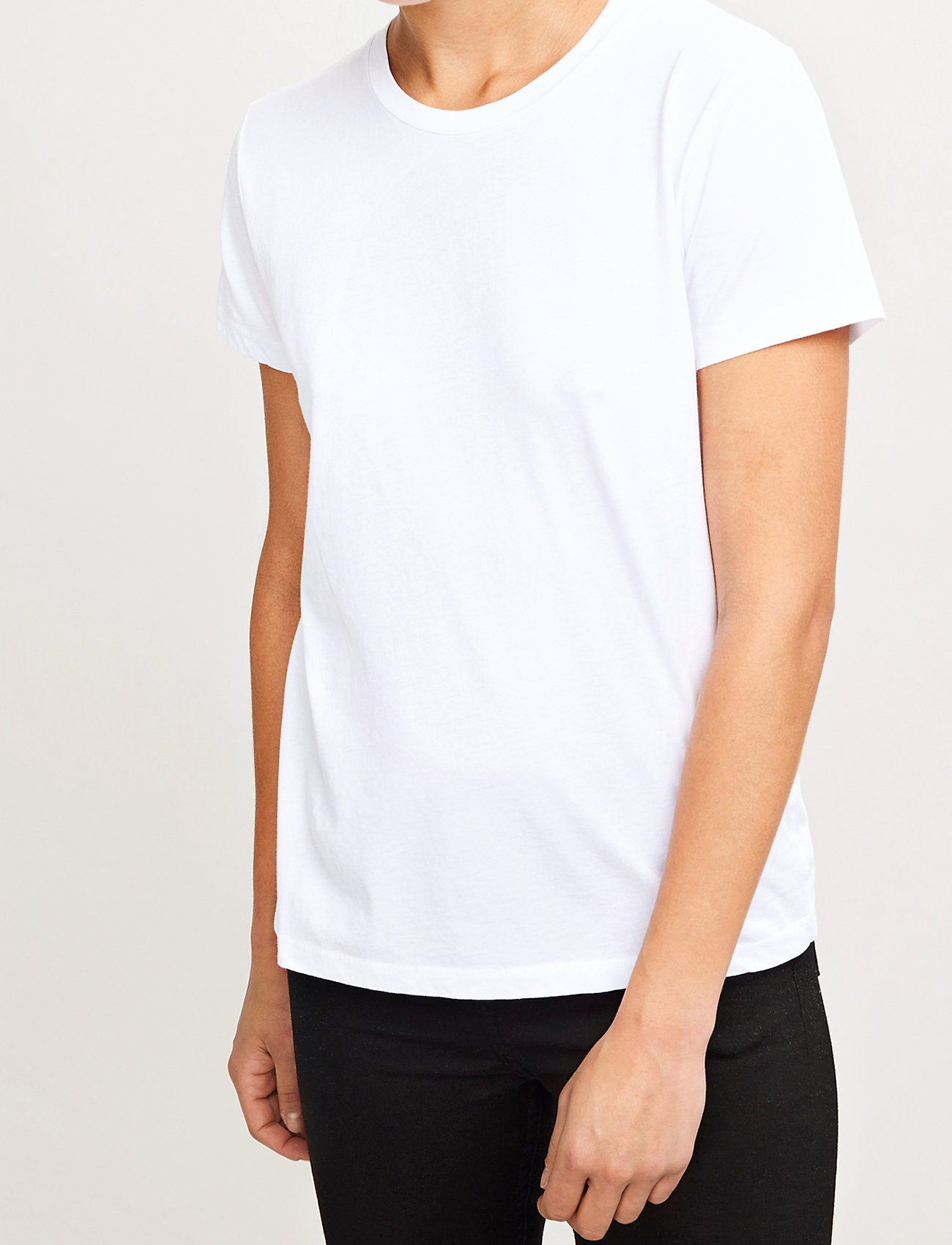 Samsøe Samsøe - Solly tee solid 205 - t-shirts - white - 0