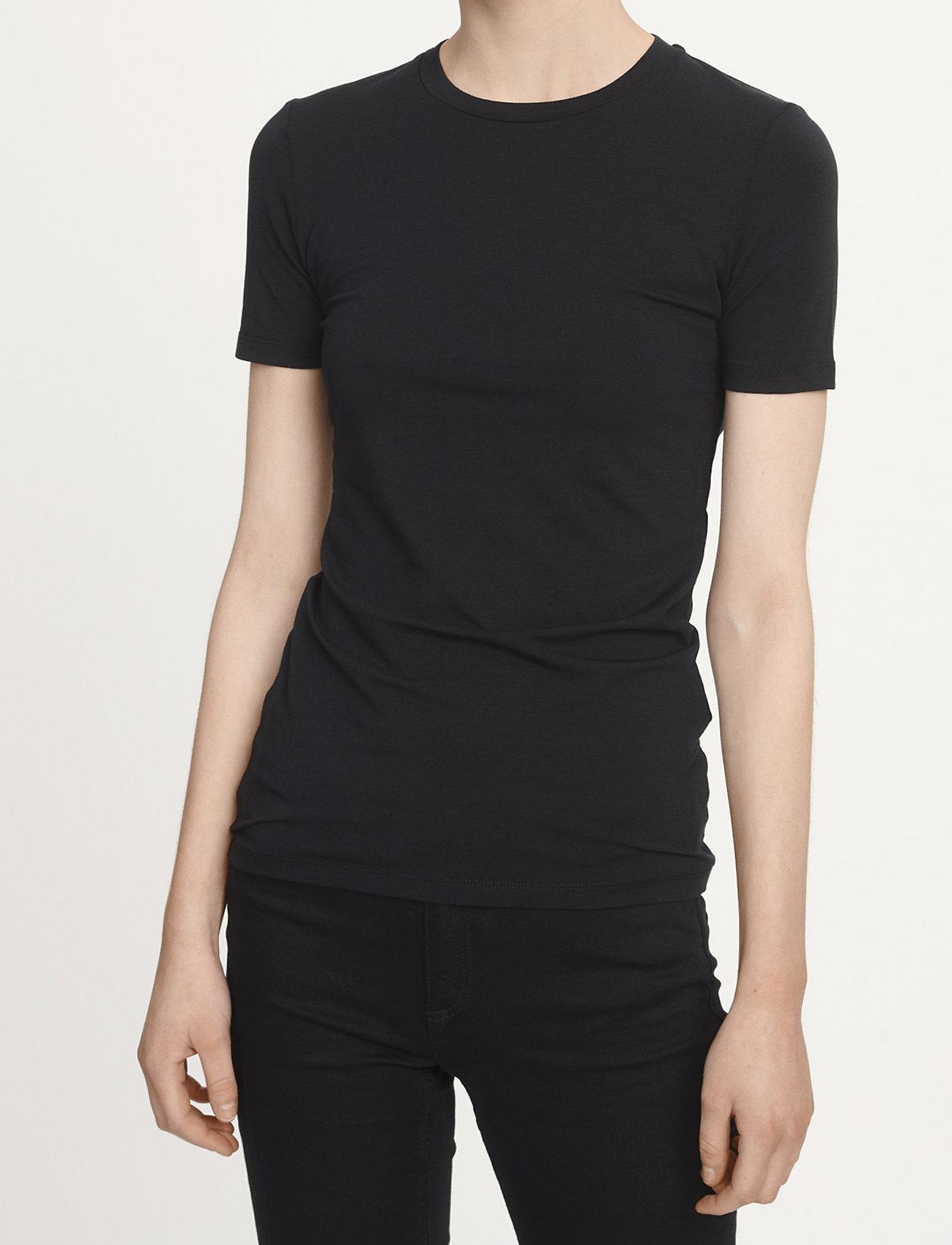 Samsøe Samsøe - Ester ss 265 - t-shirts - black - 0