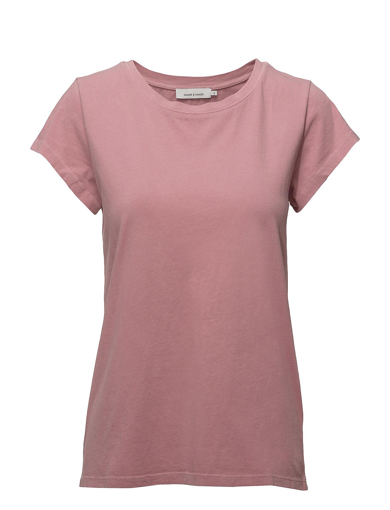 Liss Ss Gd 3174 T shirt Top Lyserød SAMSØE & SAMSØE