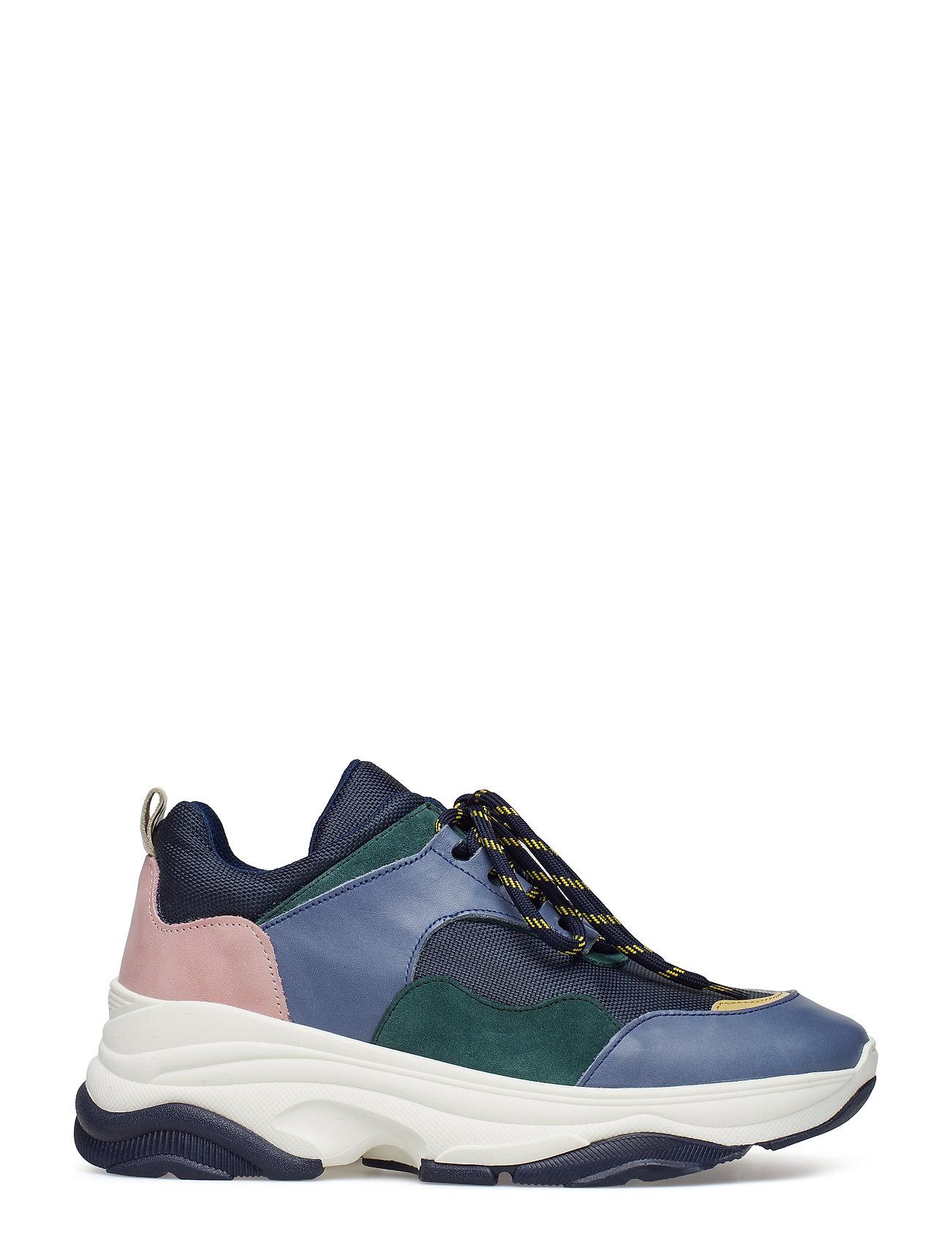 Kim 7556 Sneakers Plateau Blå Samsøe & Samsøe