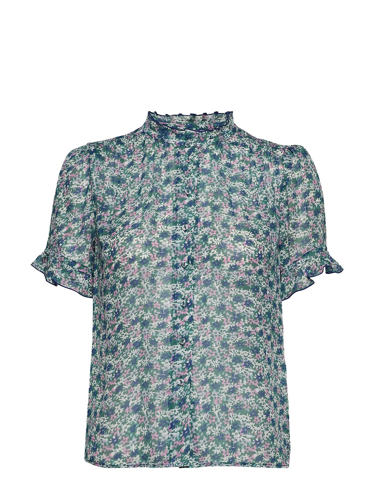 Samsøe & Samsøe Rosella shirt aop 9695 - FORGET ME NOT