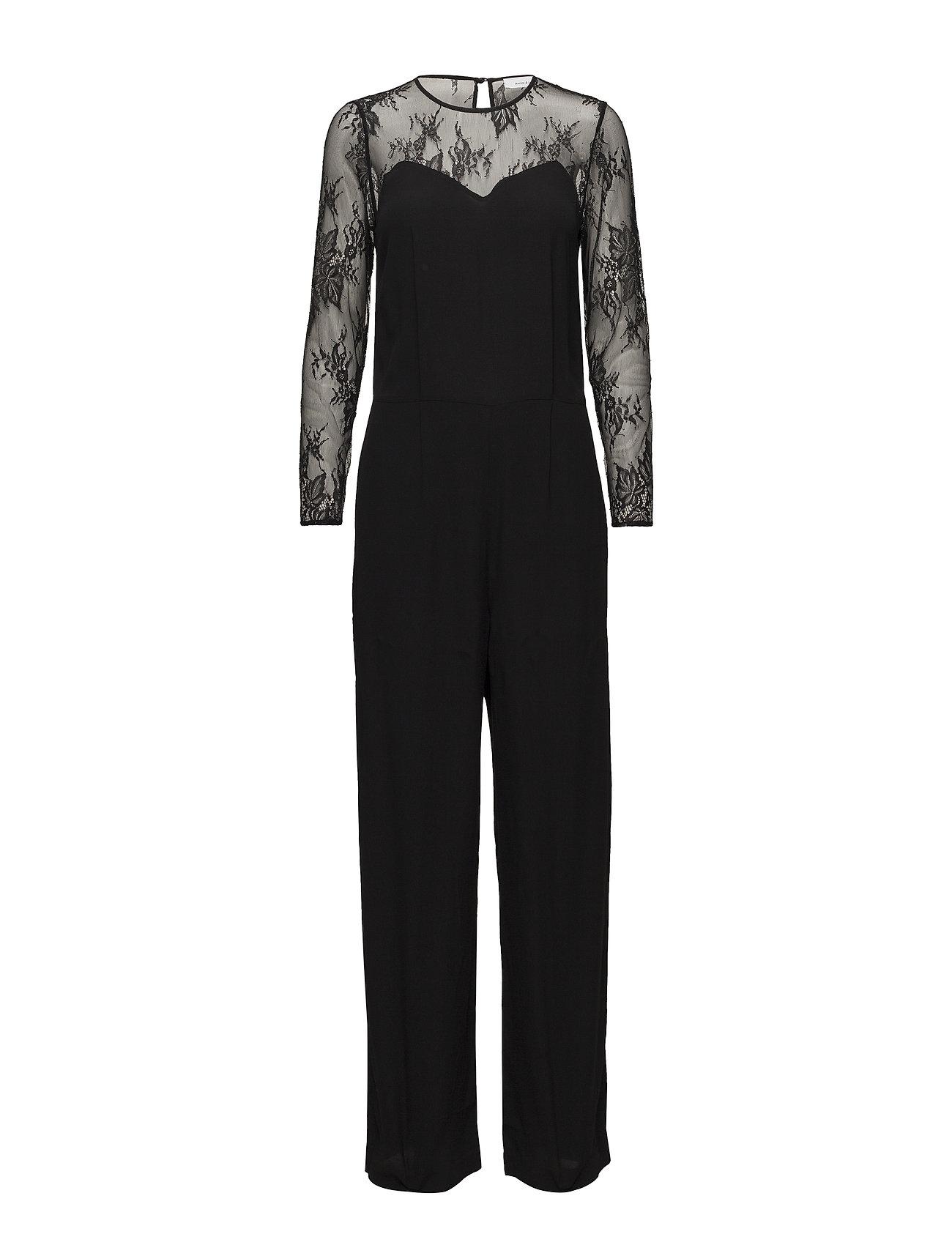 köper nytt detaljerade bilder välkänd Willow Ls Jumpsuit 10056 (Black) (149 €) - Samsøe & Samsøe ...