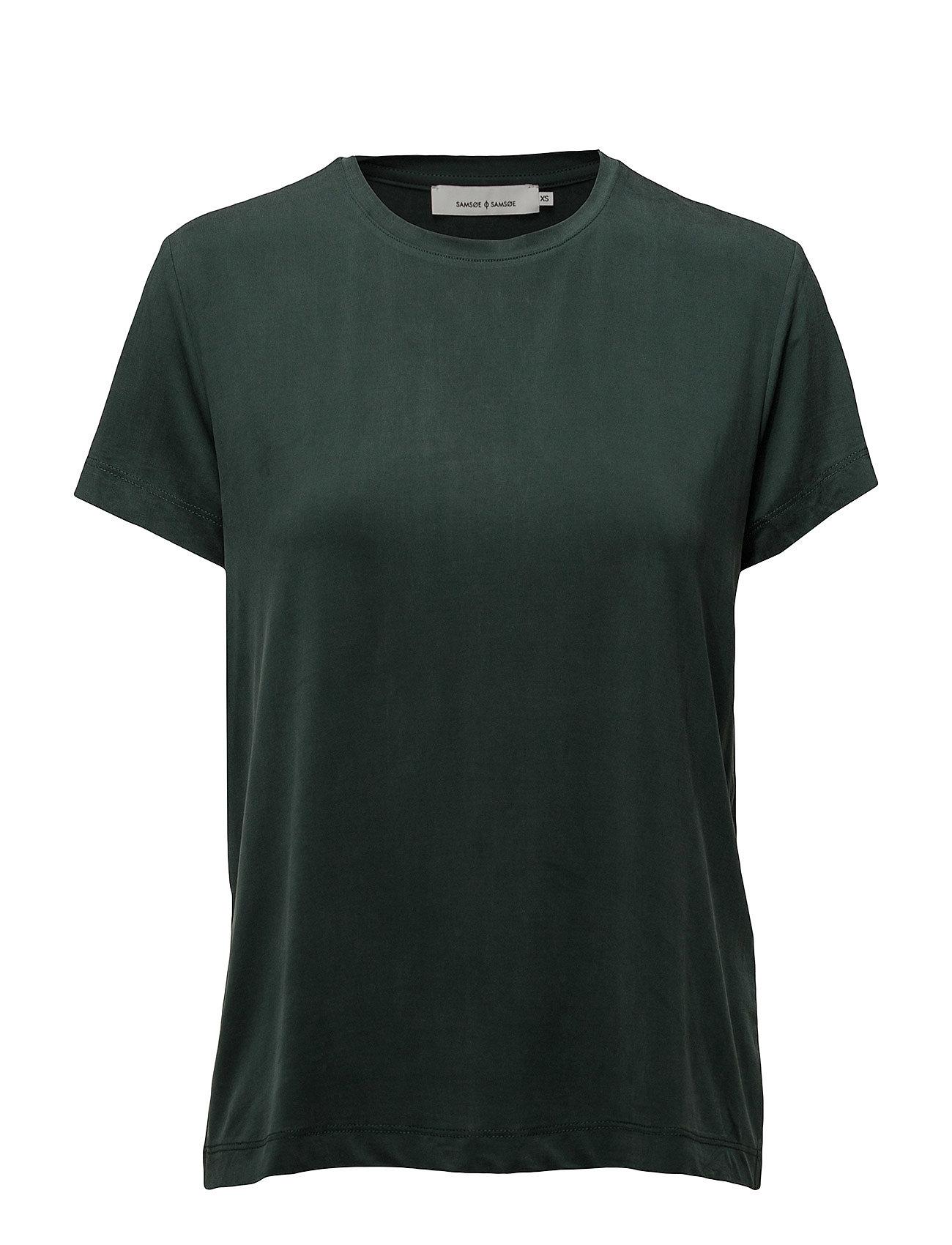 Siff Tee 6202 T shirt Top Grøn Samsøe & Samsøe