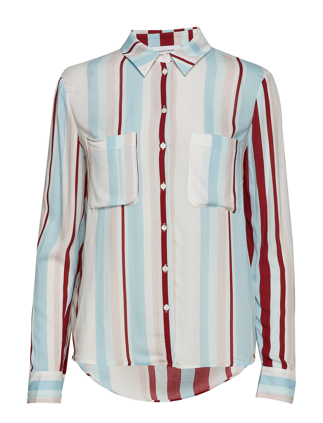 Samsøe & Samsøe Milly shirt aop 7201 - RED LINE
