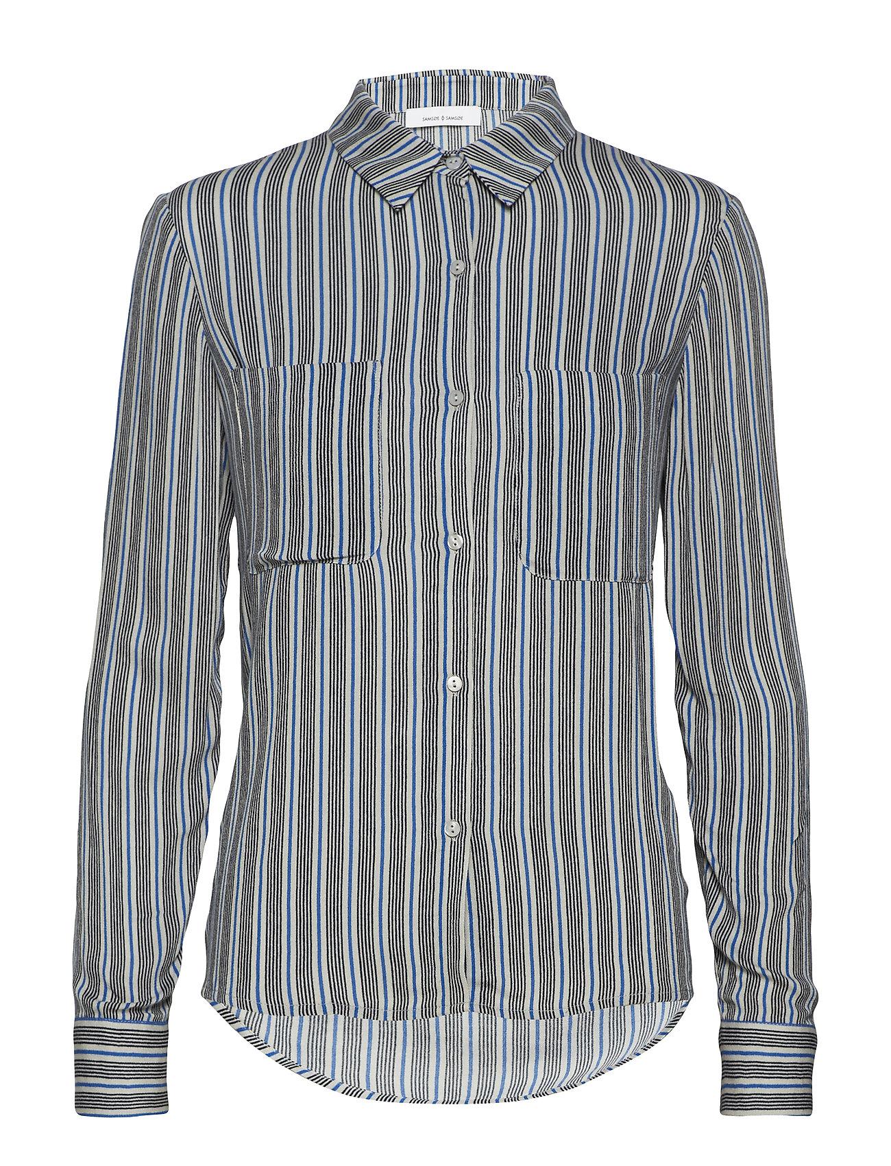 Samsøe & Samsøe Milly shirt aop 7201 - SEA ST
