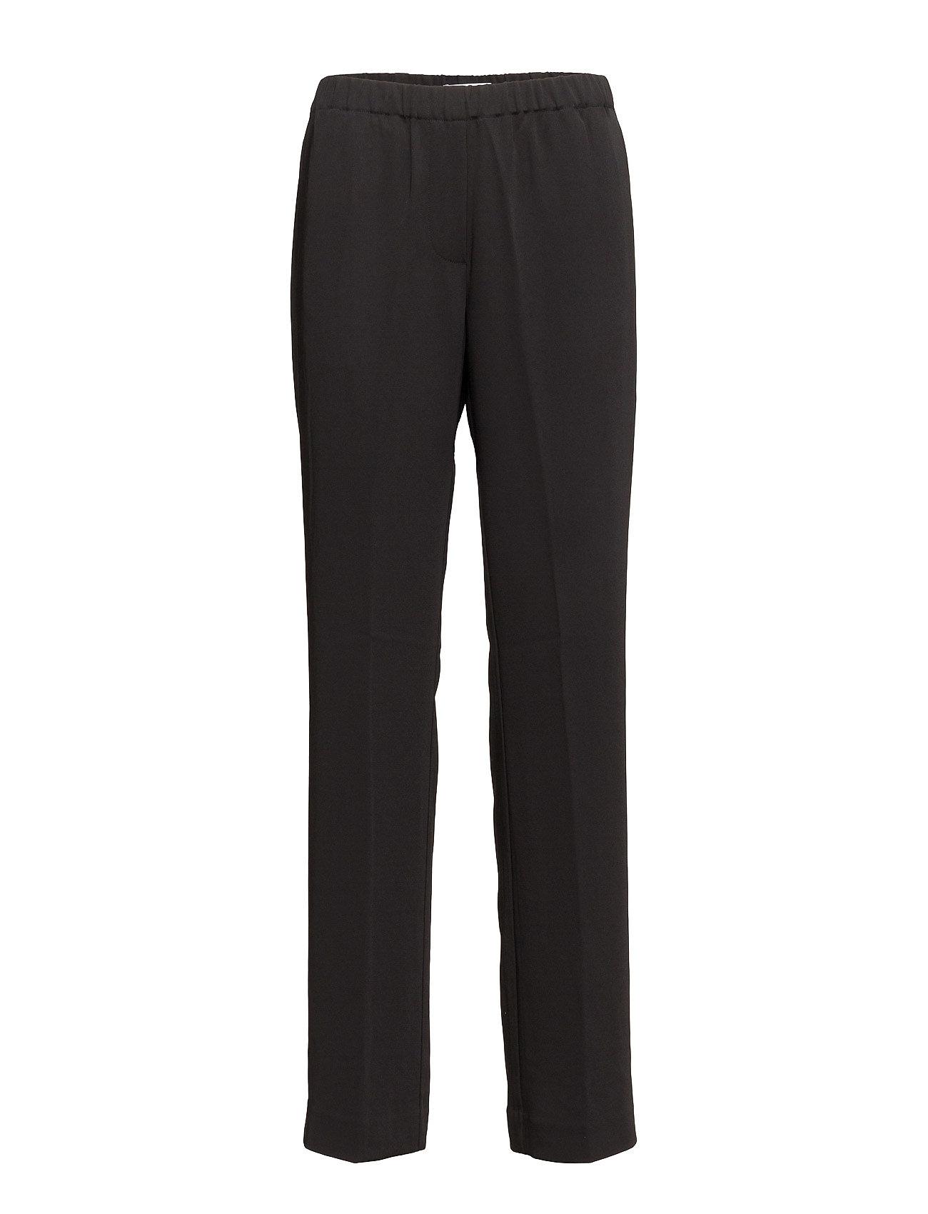 Samsøe & Samsøe Hoys straight pants 7331 - BLACK