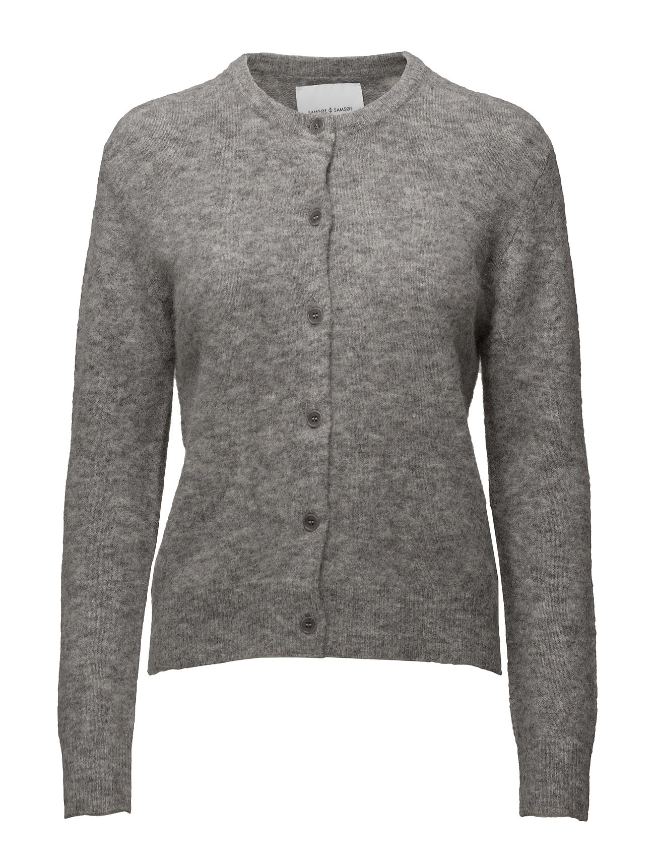 Samsøe & Samsøe Nor short cardigan 7355 - GREY MEL.