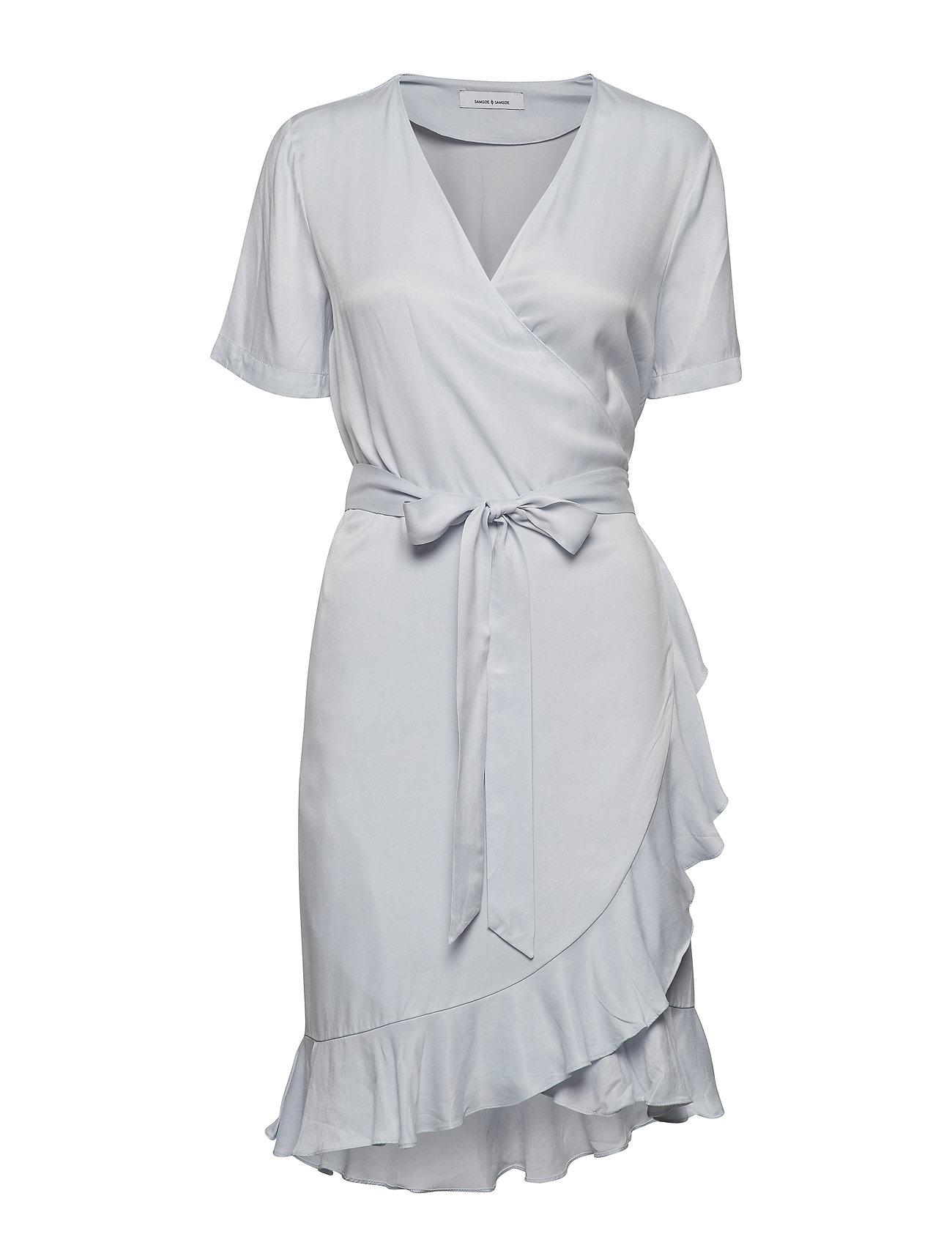 e0b8e2ec2142 Limon Ss Dress 9941 (Halogen Blue) (£130) - Samsøe   Samsøe ...