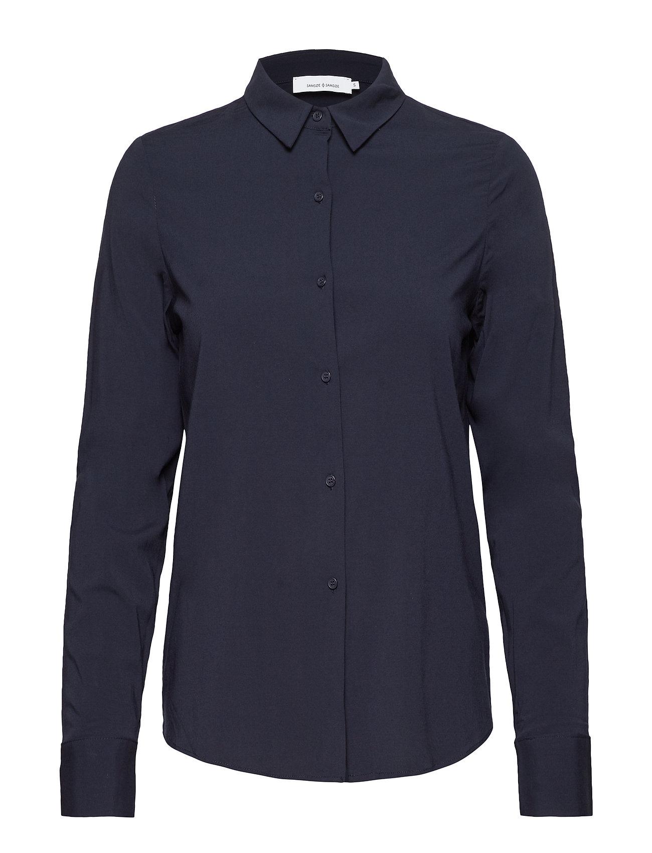 Samsøe & Samsøe Milly np shirt 9942 - DARK SAPPHIRE