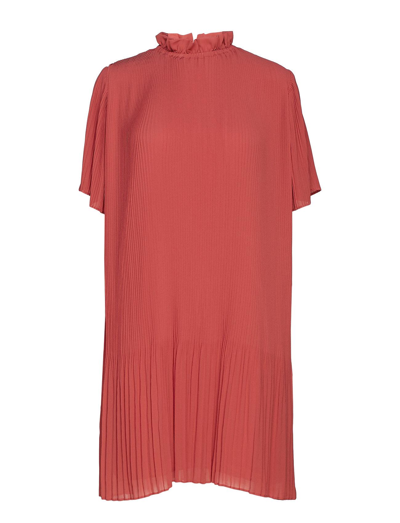 b72c0307212 Malie Ss Dress 6621 (Dusty Cedar) (560 kr) - Samsøe & Samsøe ...