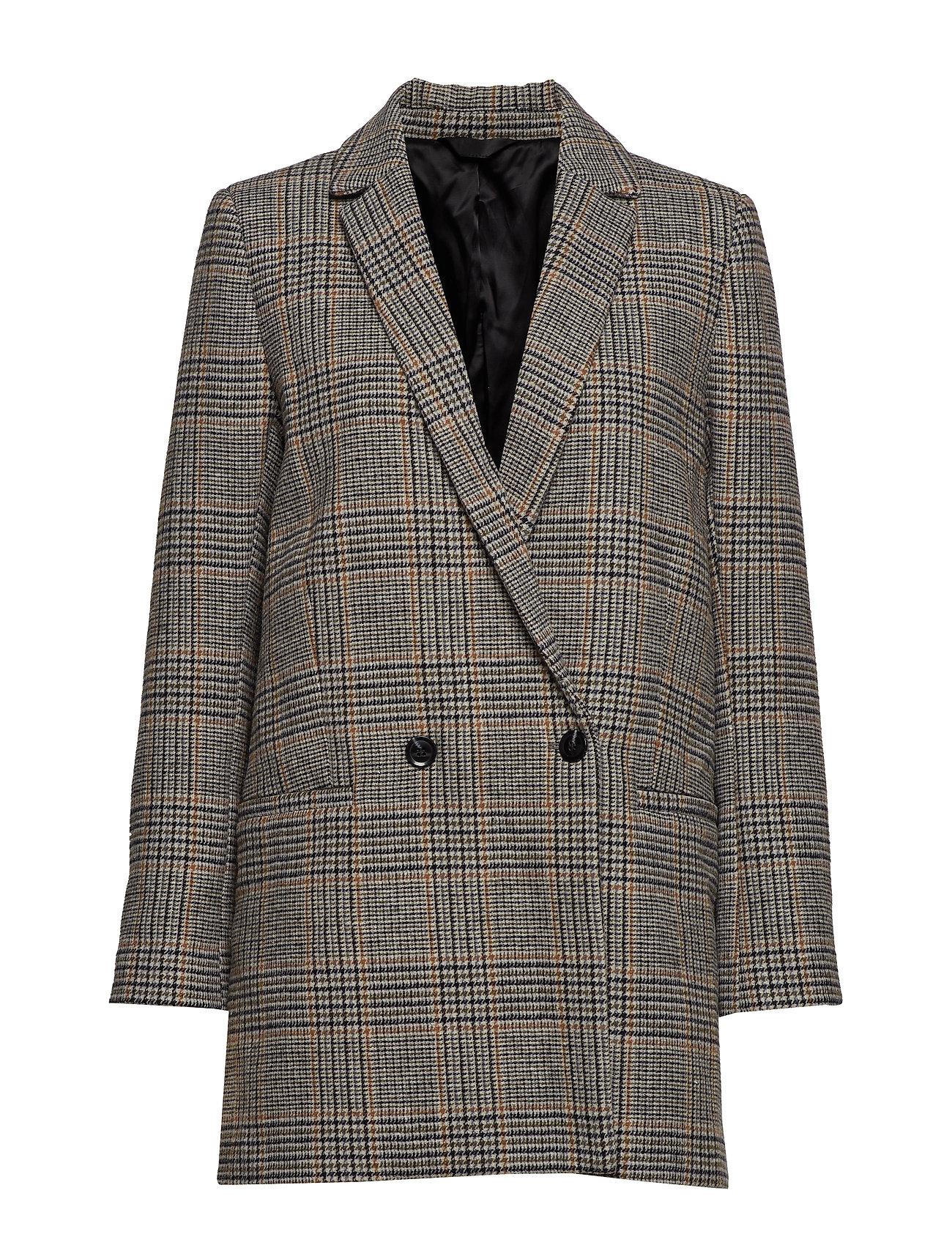 Samsøe & Samsøe Ditte jacket 10153 - CARAMEL CHECK