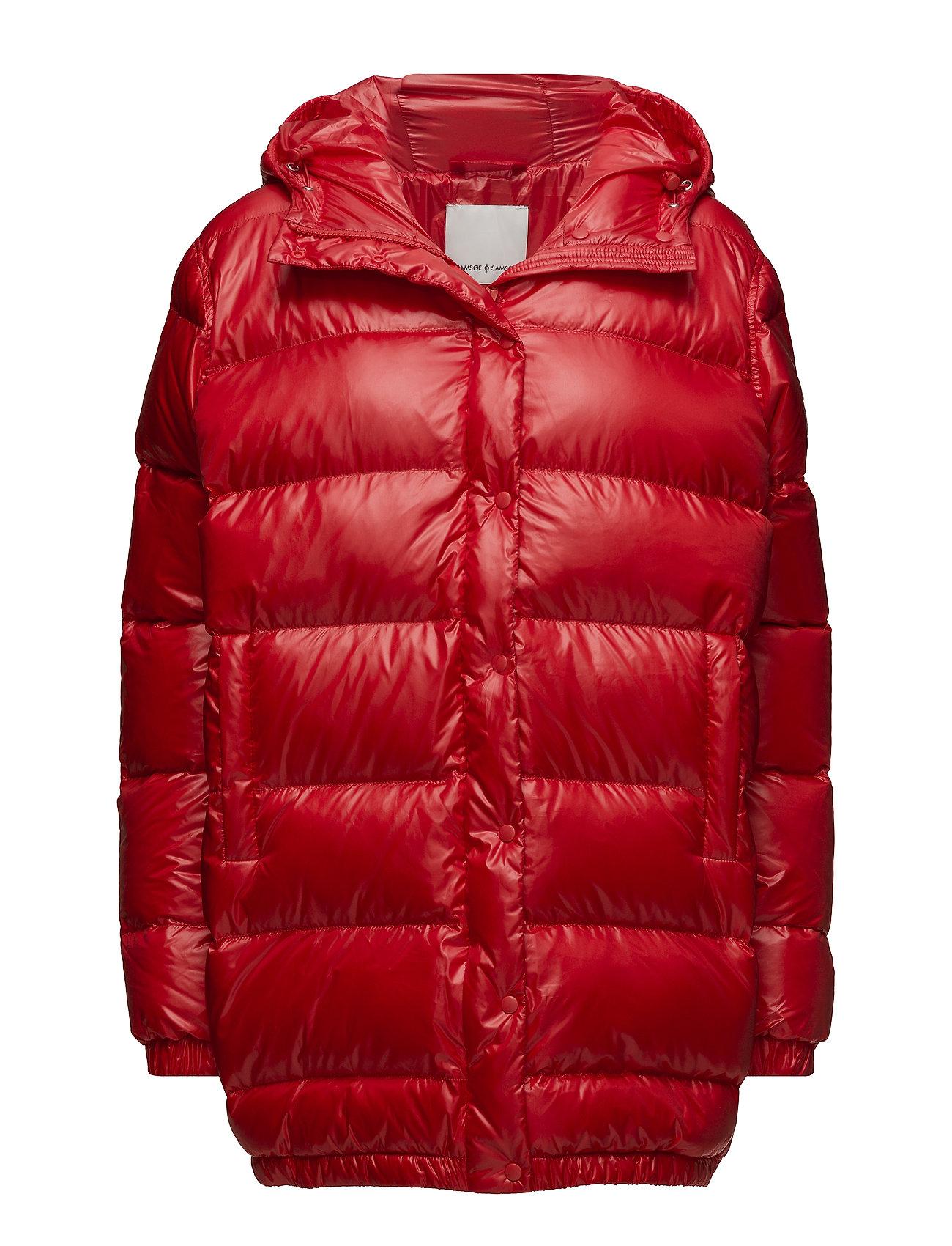 Samsøe & Samsøe Mirela jacket 10144 - FLAME SCARLET