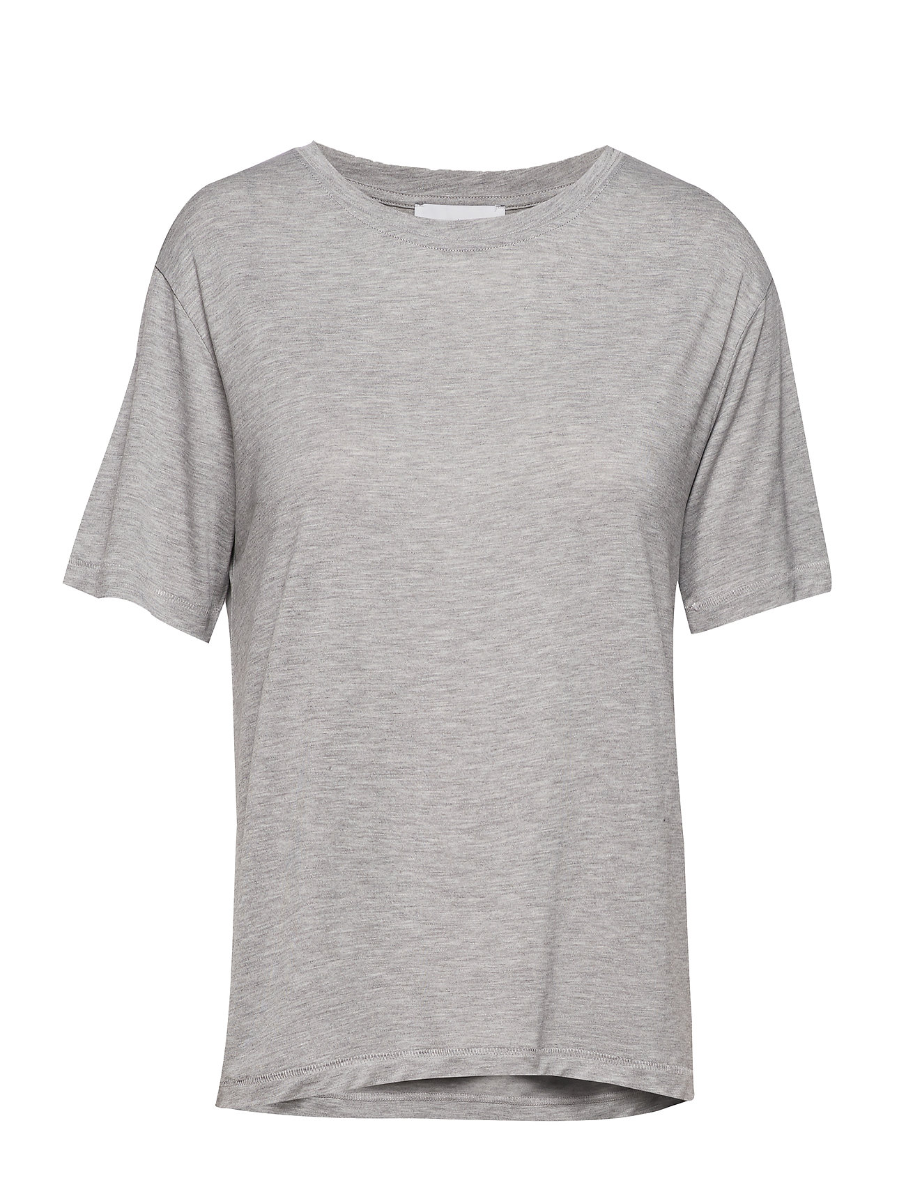 Uta Ss 10172 T shirt Top Grå Samsøe & Samsøe