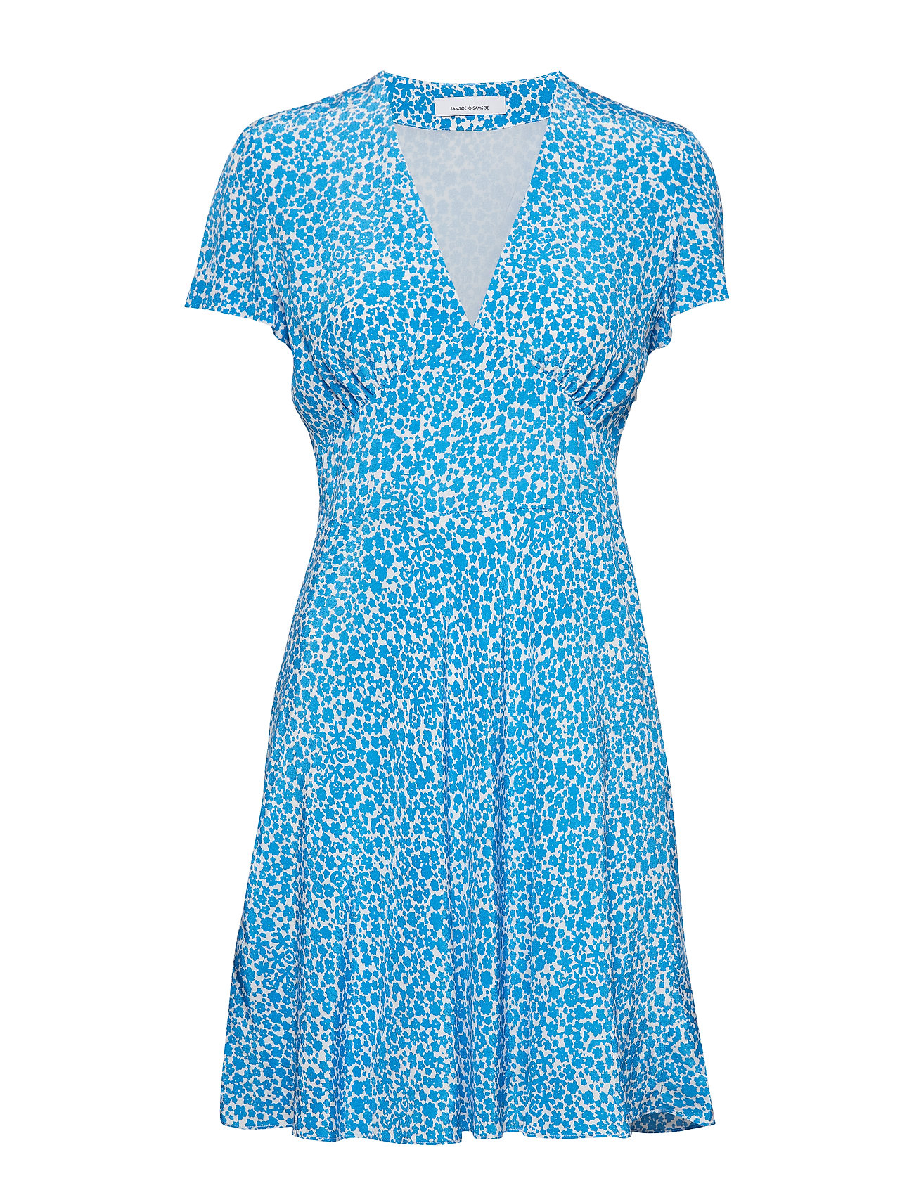 Cindy ButtercupSamsøeamp; 10056blue Aop S Dress 76fgyvYb