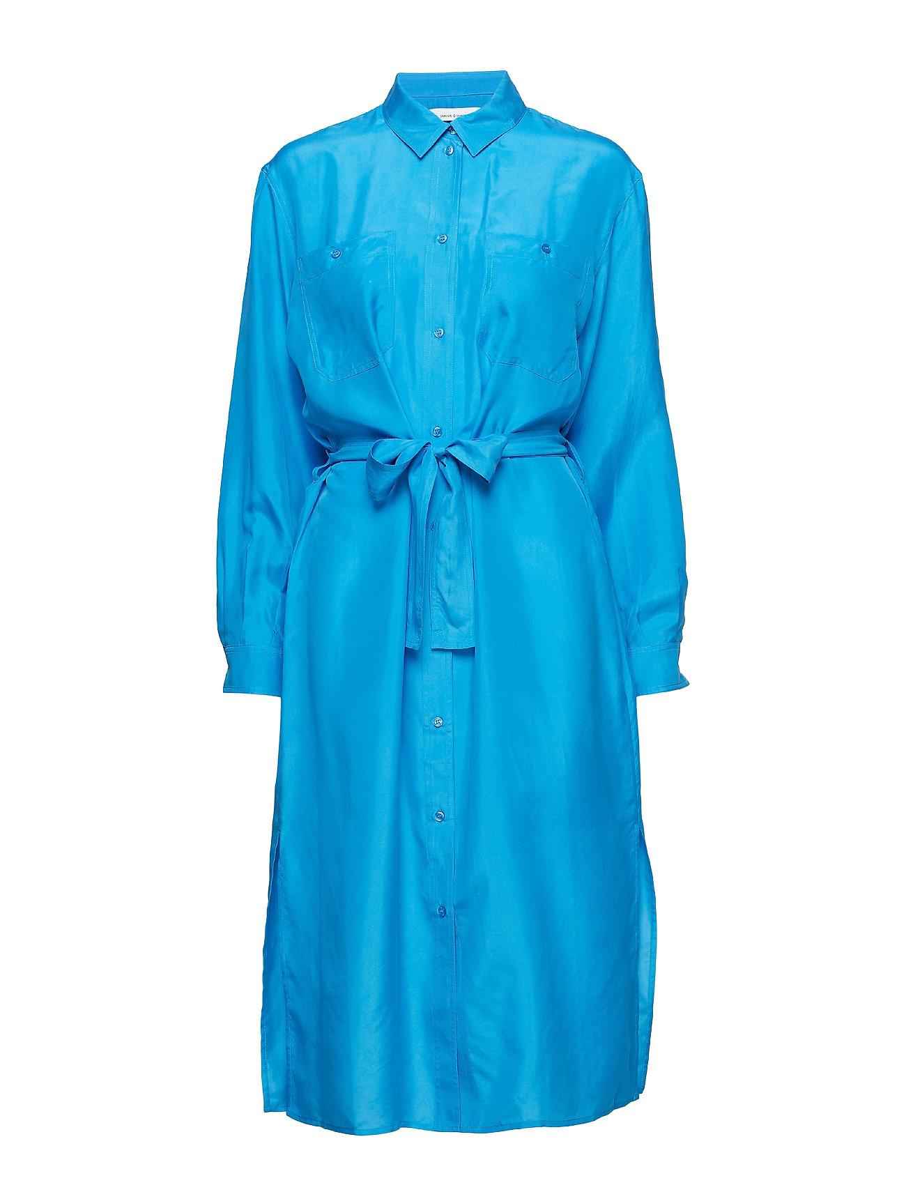 Samsøe & Samsøe Cora shirt dress 10756 - BLUE ASTER