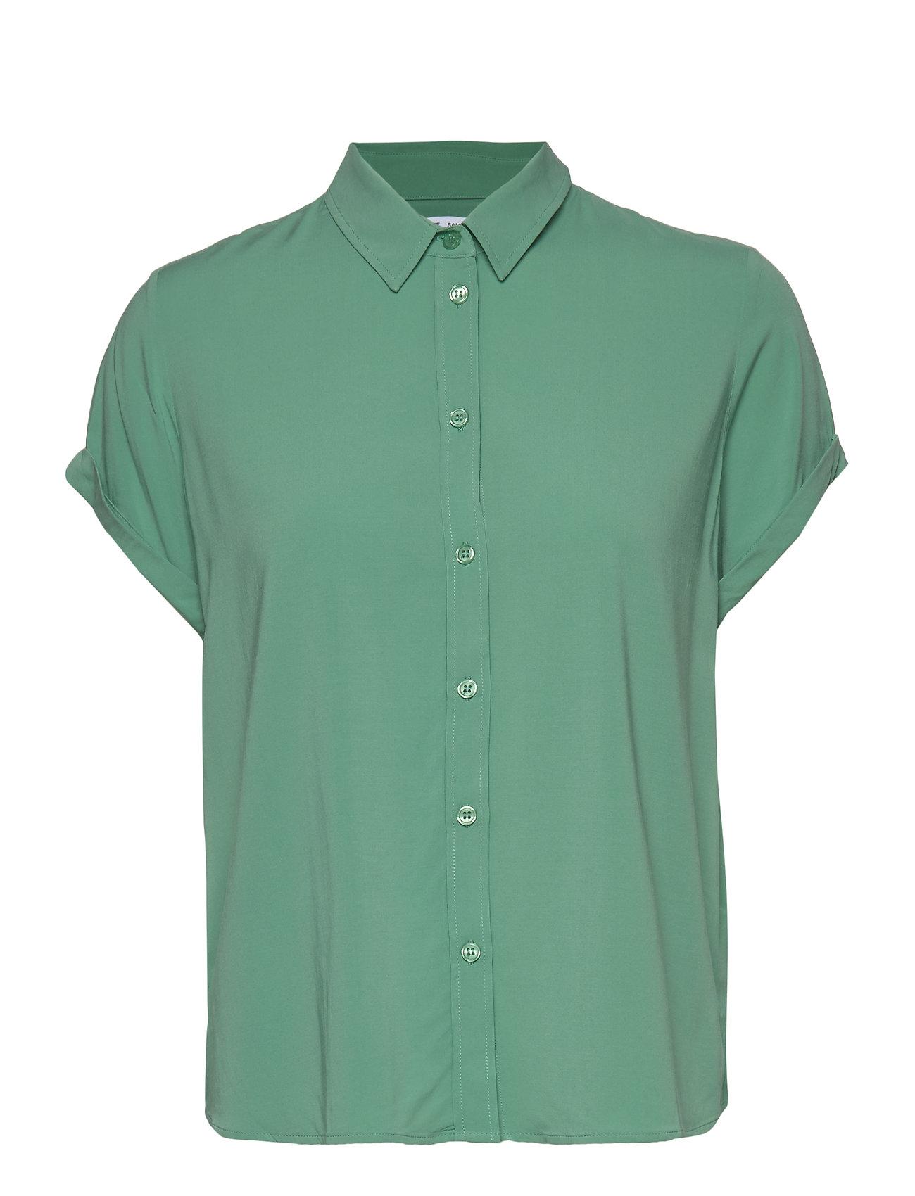 Samsøe Samsøe Majan ss shirt 9942 - CREME DE MENTHE