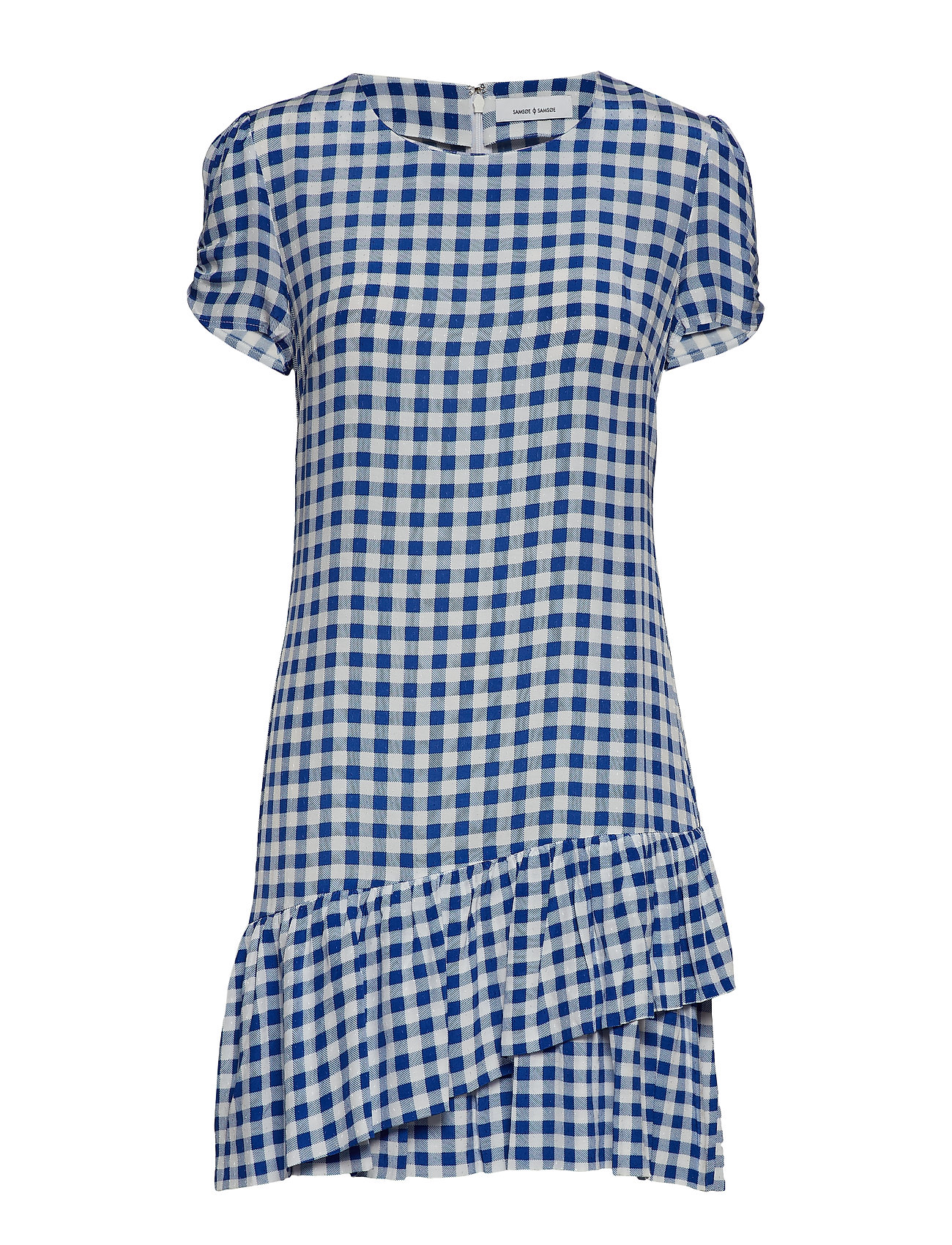 Samsøe & Samsøe Monza short dress aop 10458 - BLU CUBETTO