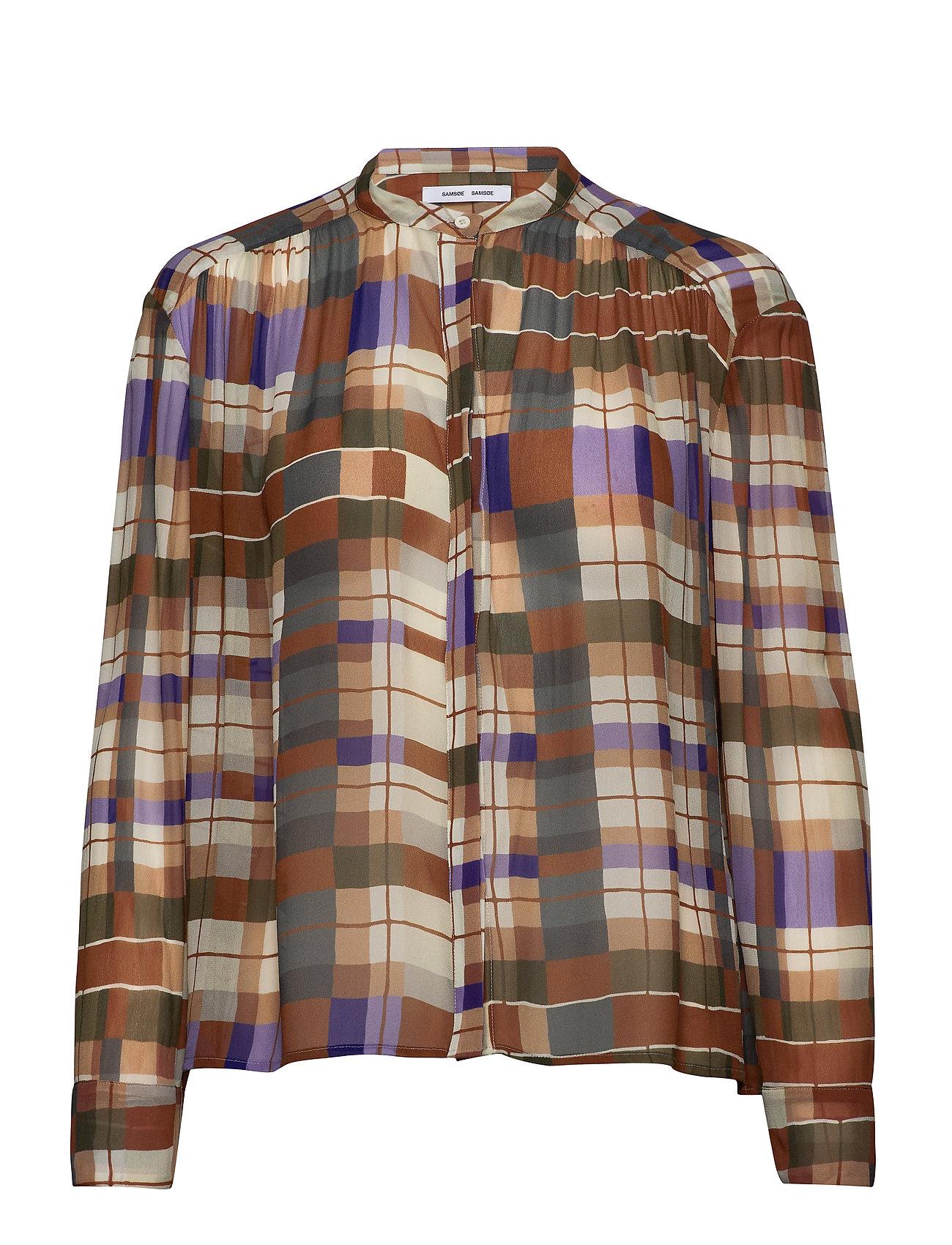 Samsøe Samsøe Elmy shirt aop 9695 - PATCHWORK CHECK