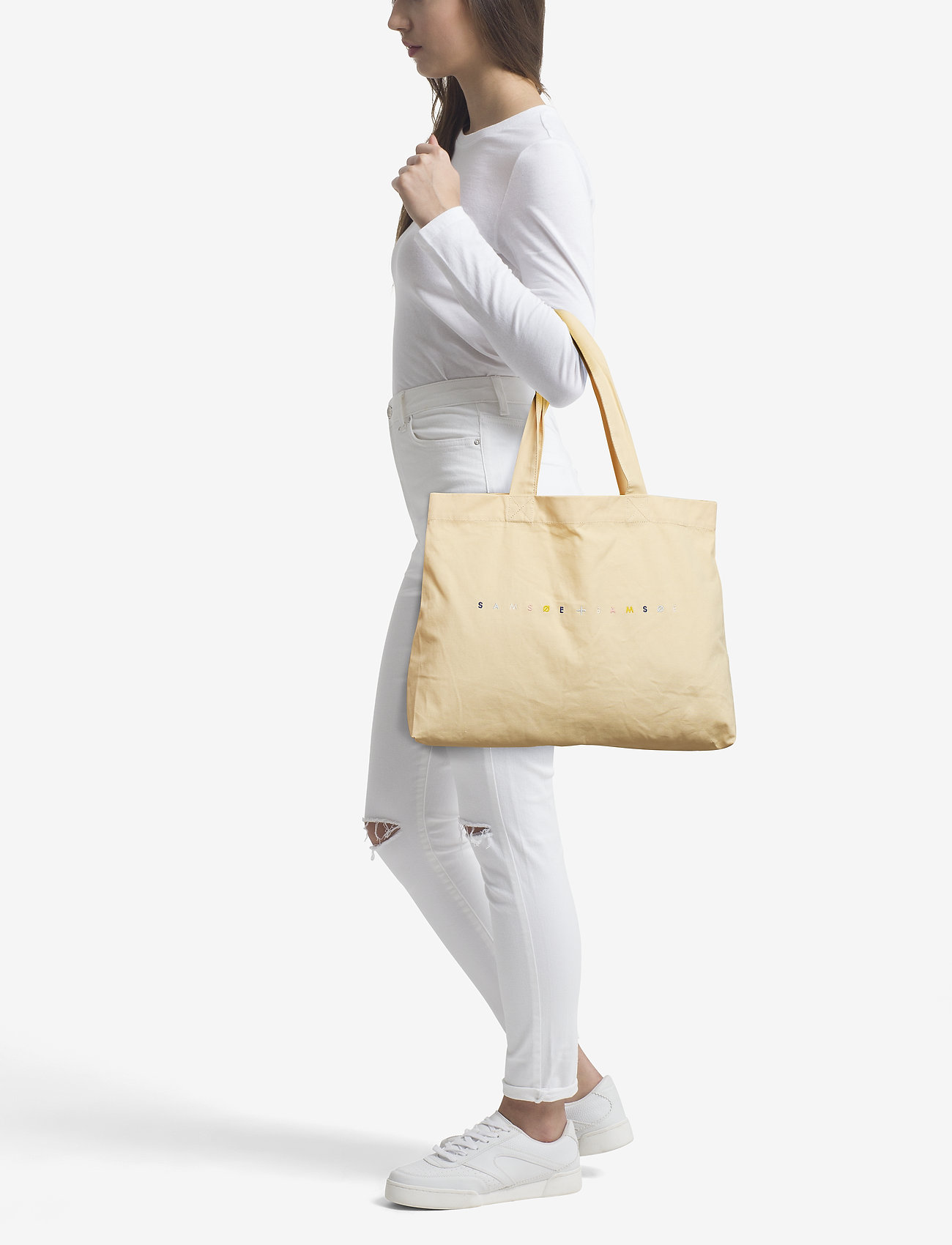 Samsøe & Samsøe Canvas shopper 10833