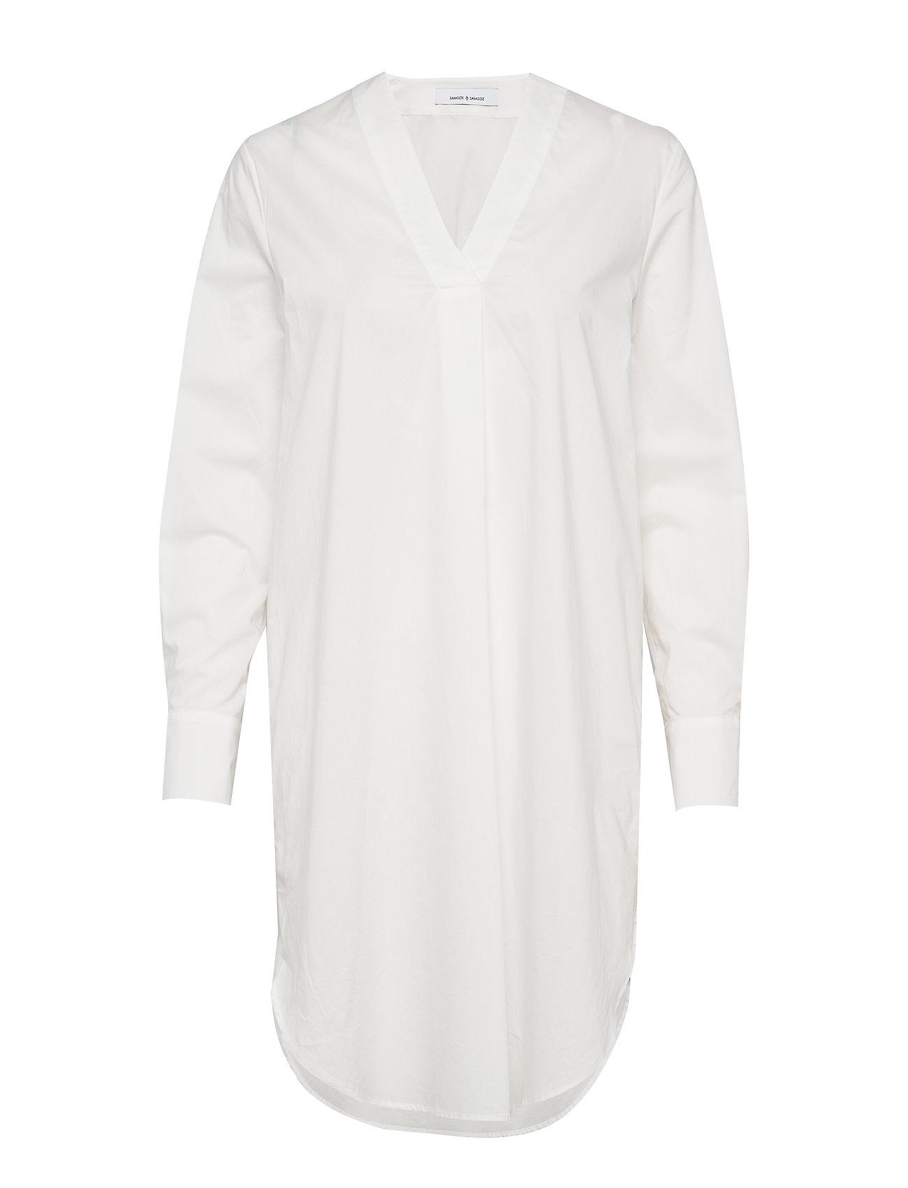Samsøe & Samsøe Hamilla vn dress 10451 - CLEAR CREAM