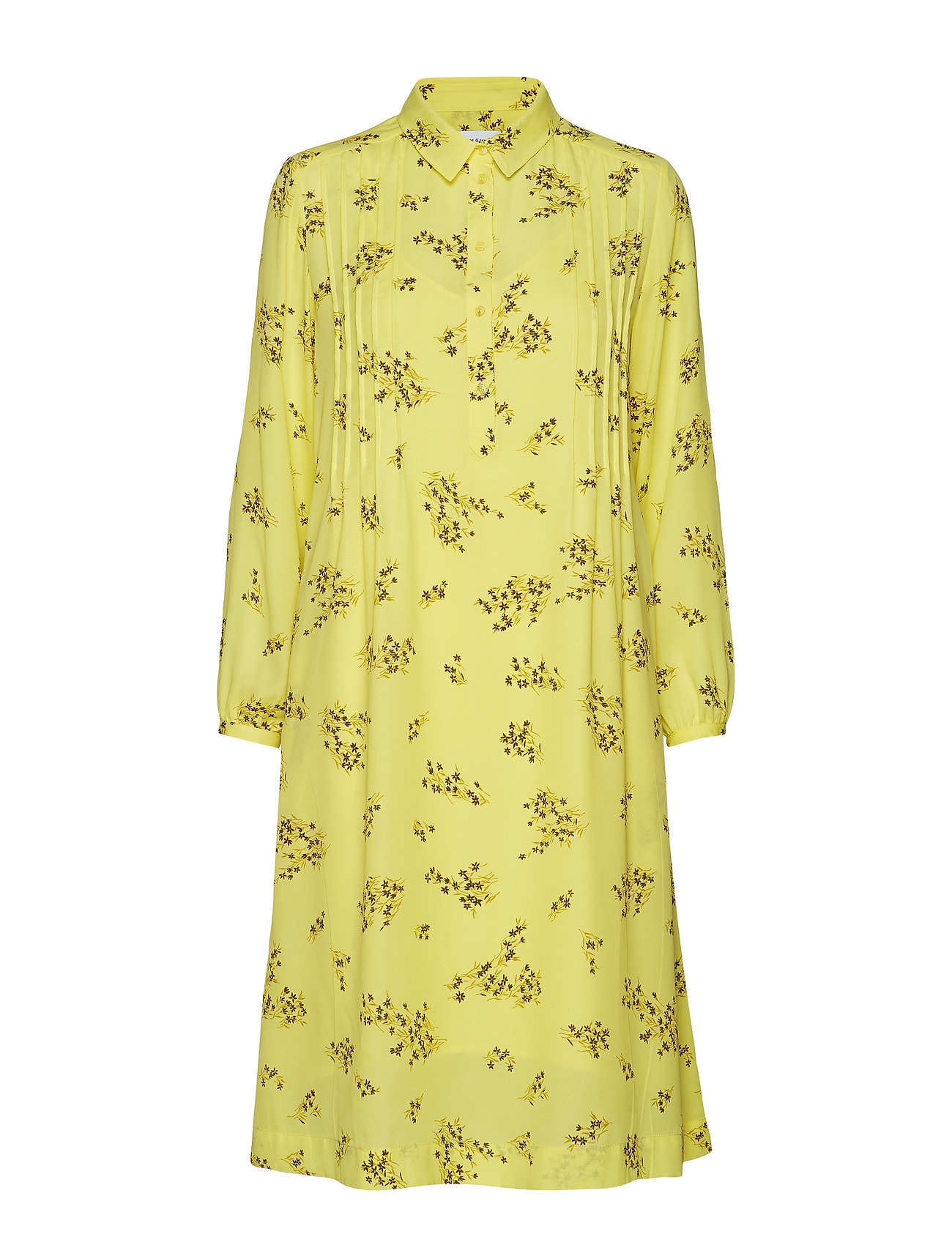 Samsøe Samsøe Musa shirt dress aop 6891 - YELLOW BREEZE