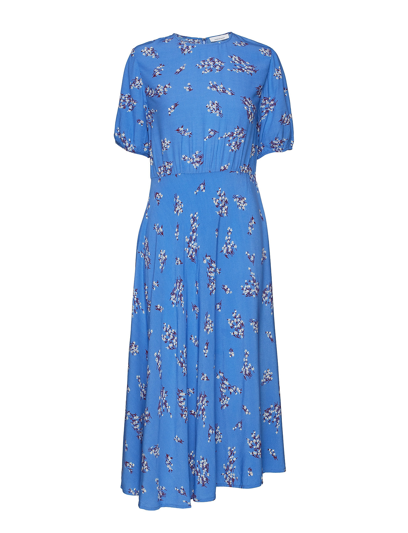 6735c8c0 Decora Dress Aop 10864 (Blue Breeze) (900 kr) - Samsøe & Samsøe ...