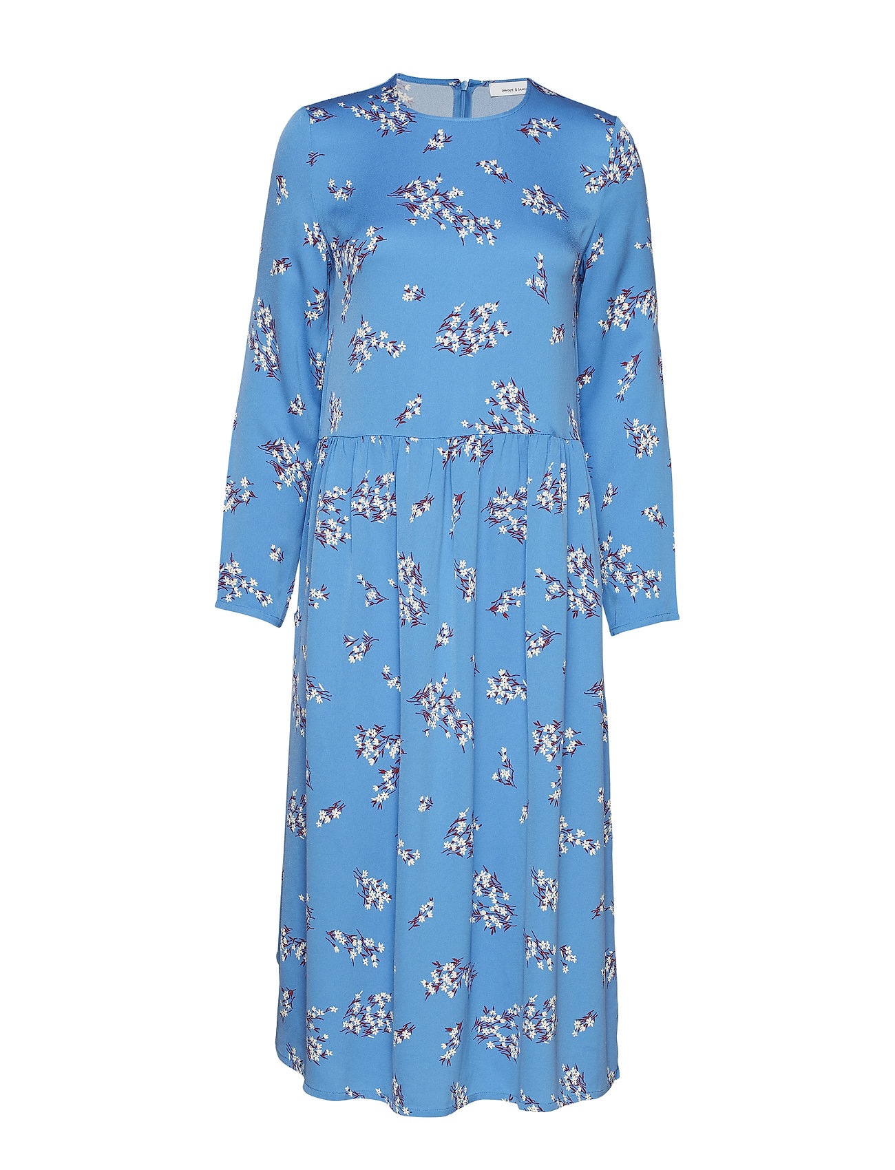 Samsøe & Samsøe Rama dress aop 8325 - BLUE BREEZE