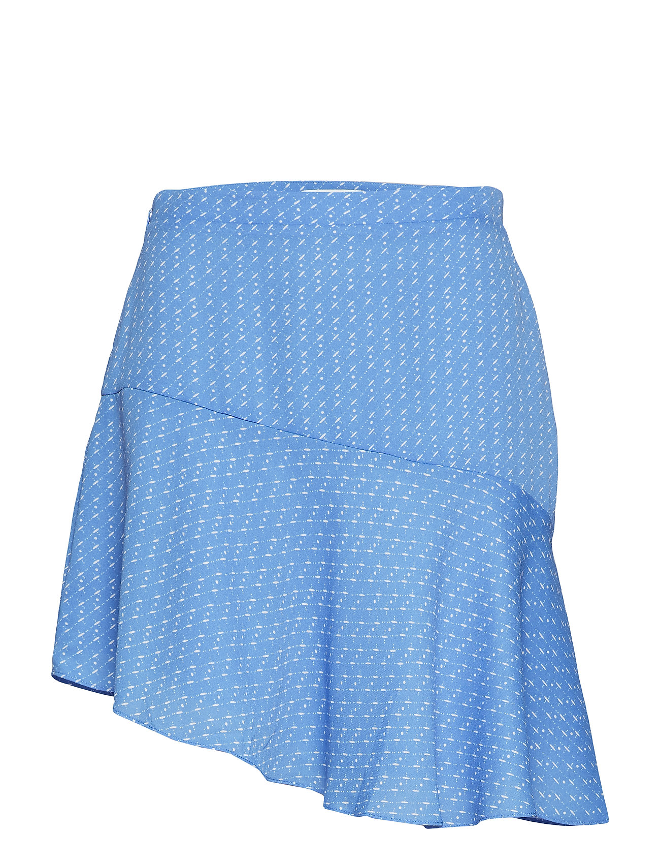 Samsøe & Samsøe Lantana short skirt aop 6891 - BLUE STARRY