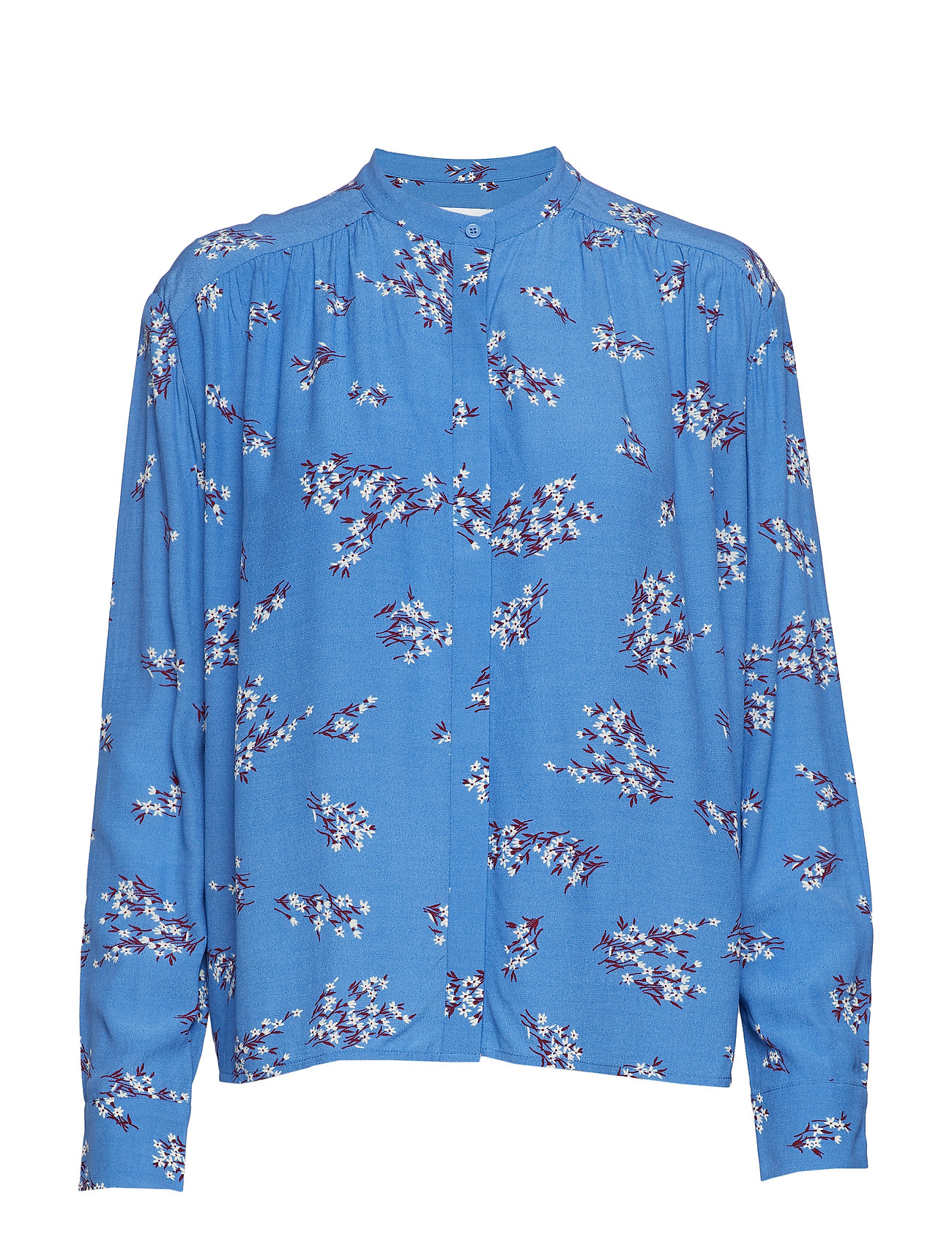 Samsøe & Samsøe Elmy shirt aop 10864 - BLUE BREEZE