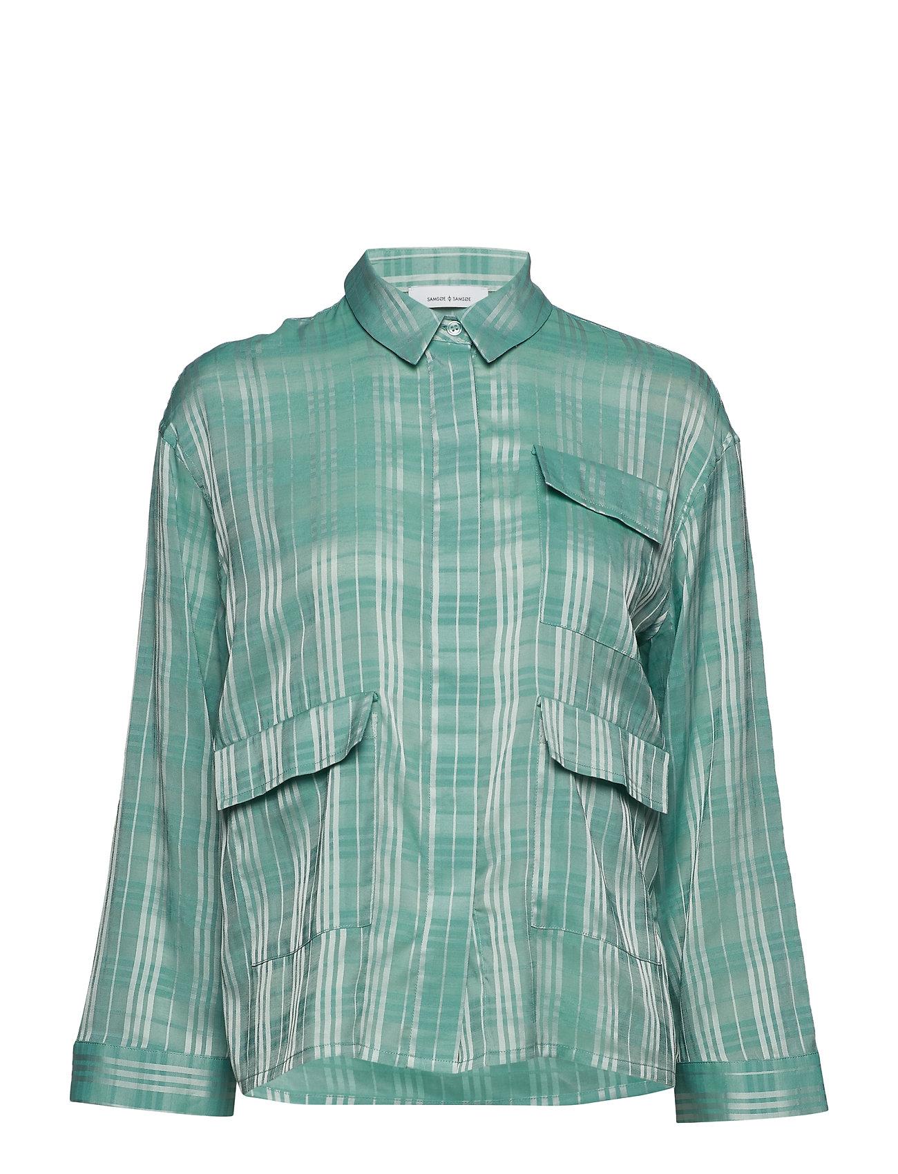 Samsøe & Samsøe Ilona shirt 10866 - BERYL GREEN