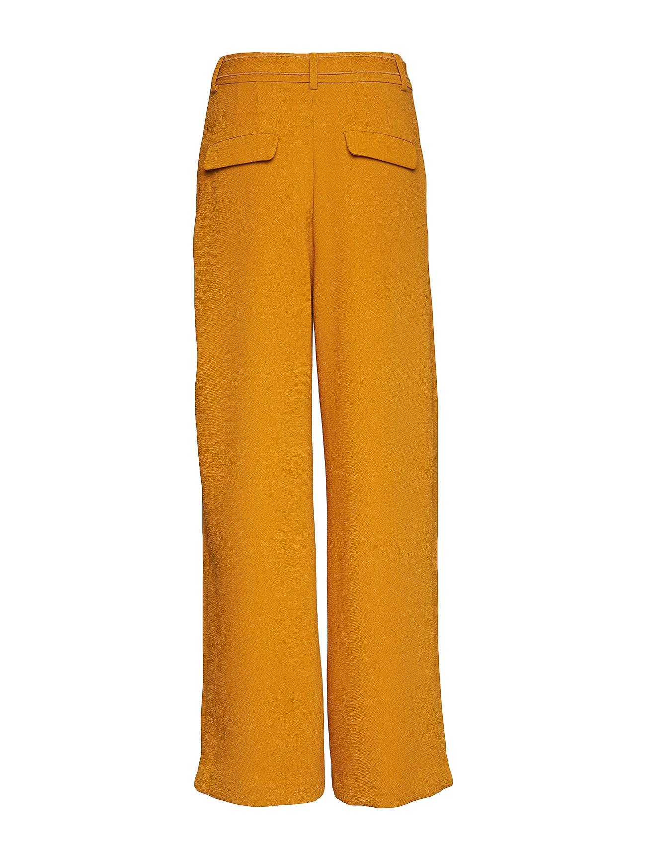Samsøe Samsøe Denise trousers 10456 - Spodnie INCA GOLD - Kobiety Odzież.