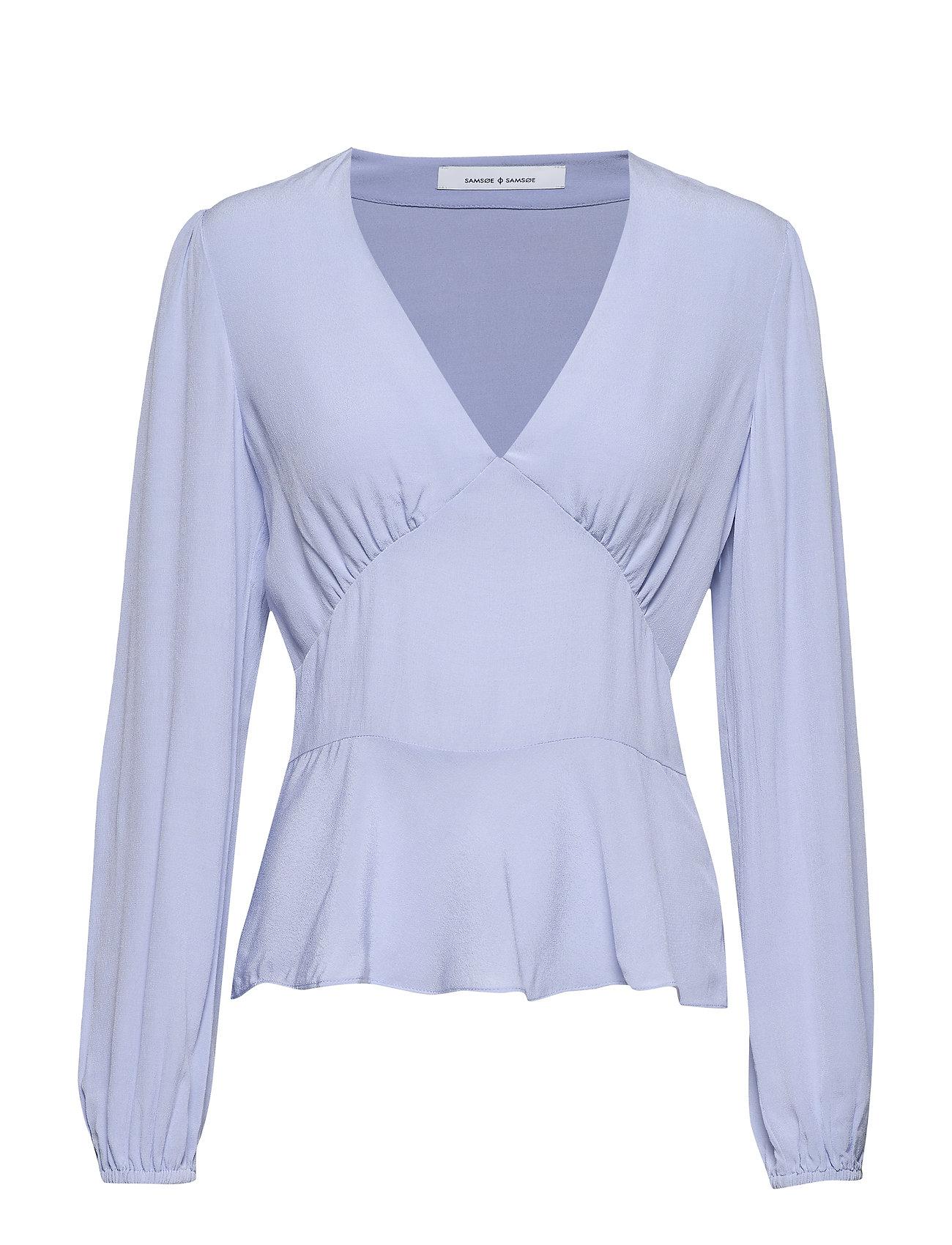 Samsøe & Samsøe Cindy blouse 10056 - ZEN BLUE