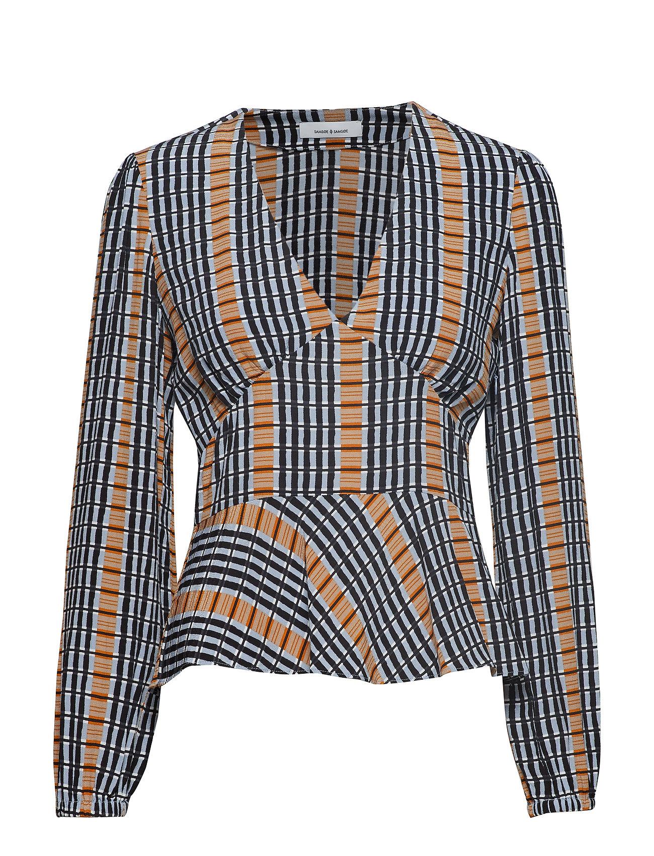 Samsøe & Samsøe Cindy blouse aop 10056 - INCA CHECK