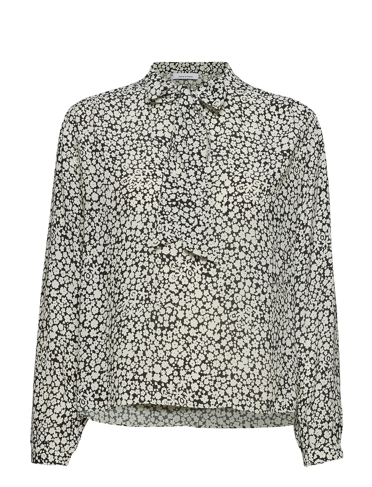 Samsøe & Samsøe Merrit blouse aop 10867 - ECRU BUTTERCUP