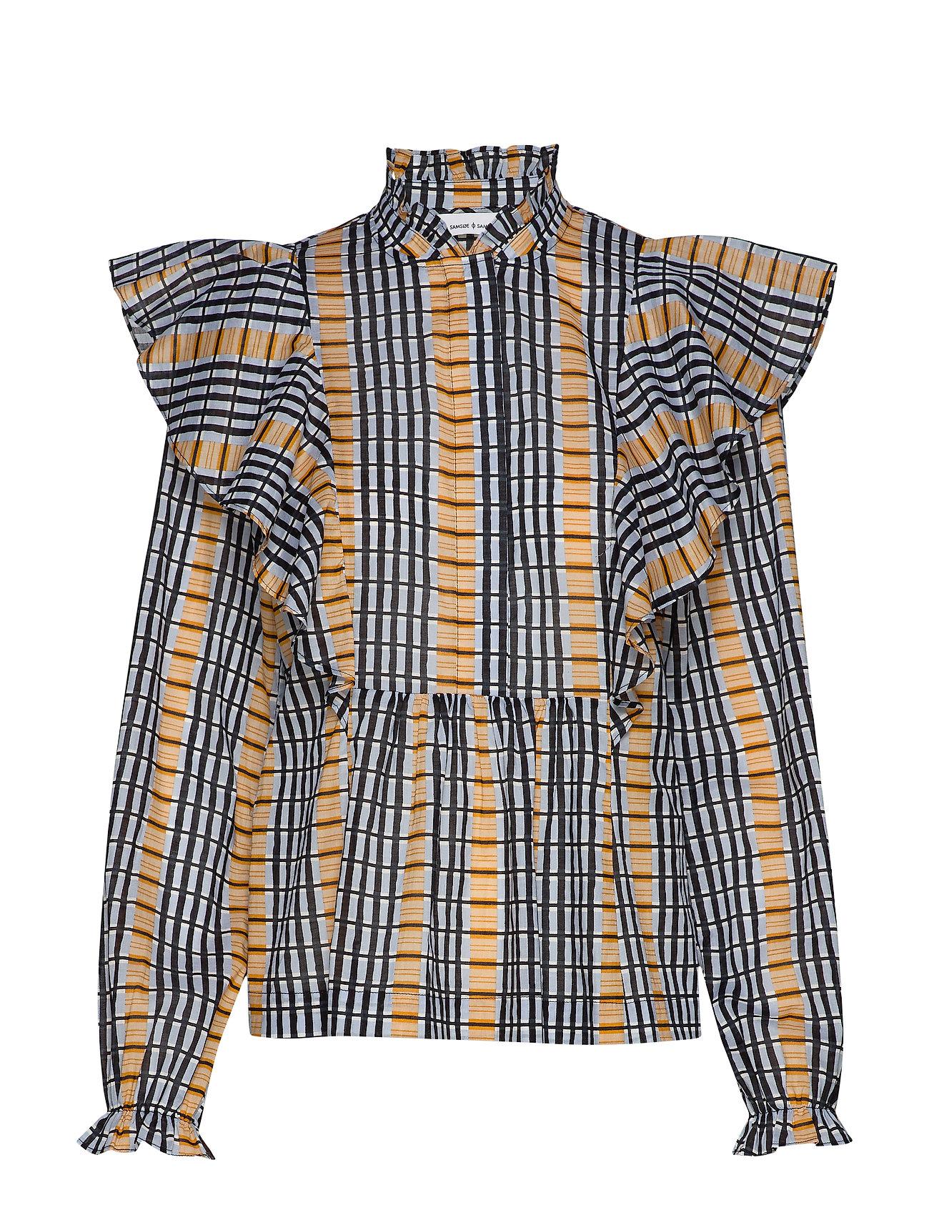 Samsøe & Samsøe Martha shirt aop 11159 - INCA CHECK