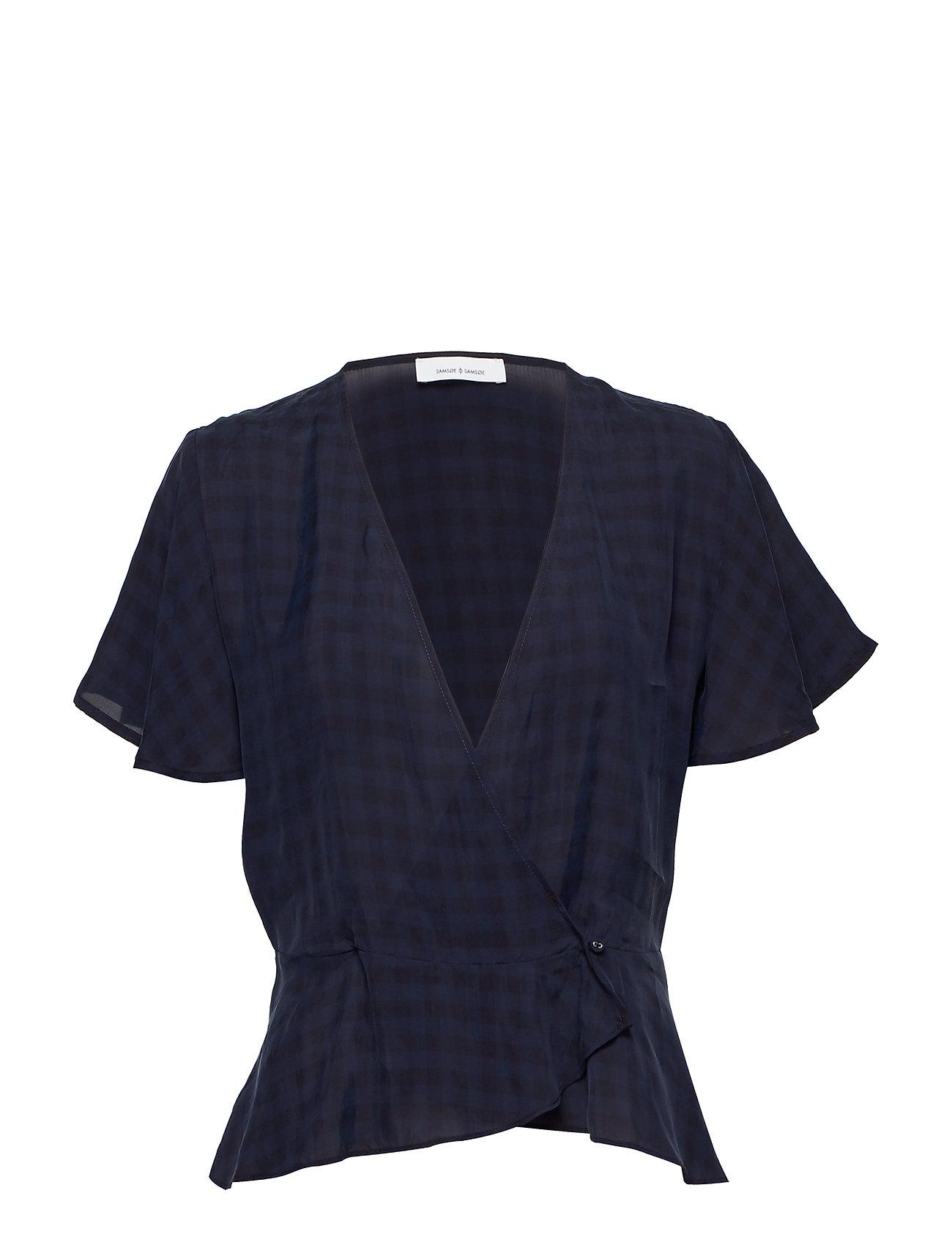 Samsøe & Samsøe Sylvi blouse ss 10851 - DARK SAPPHIRE