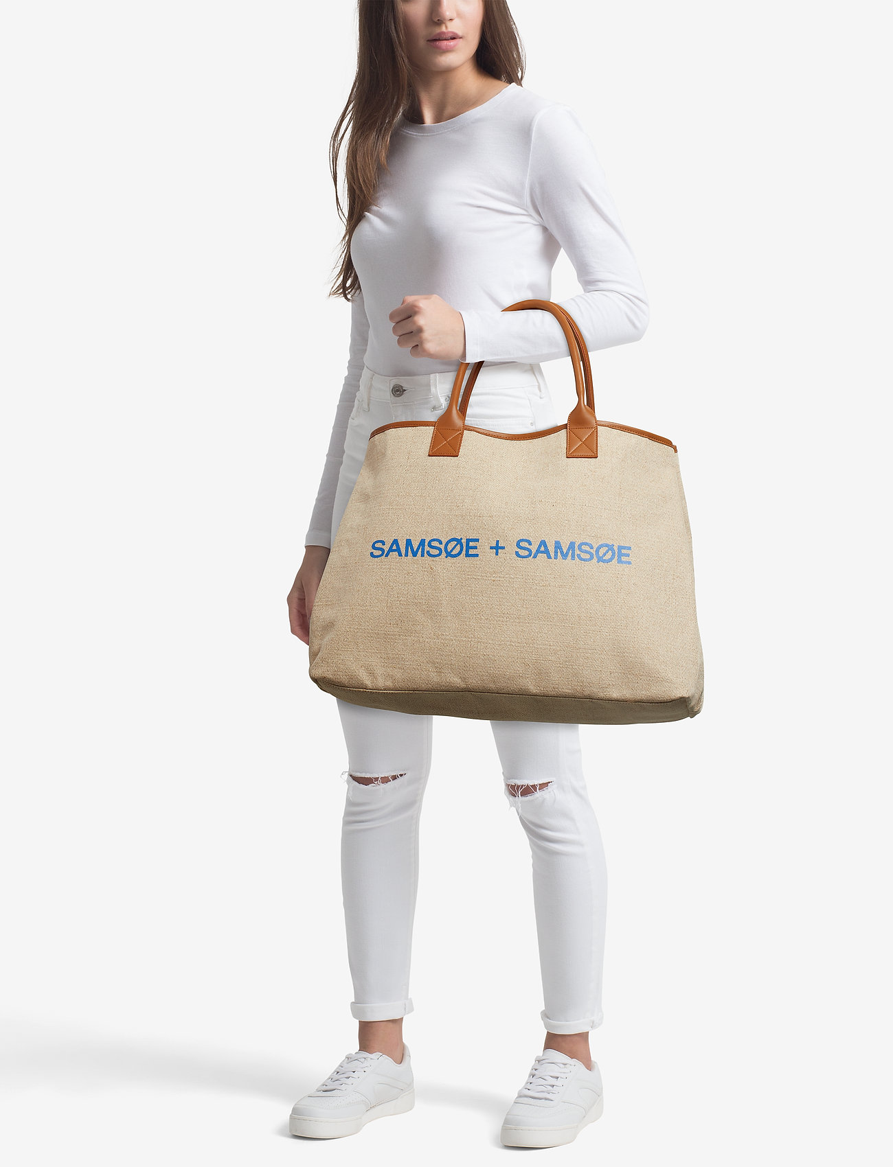 Samsøe & Samsøe Kellie bag 11166 - LIGHT KHAKI