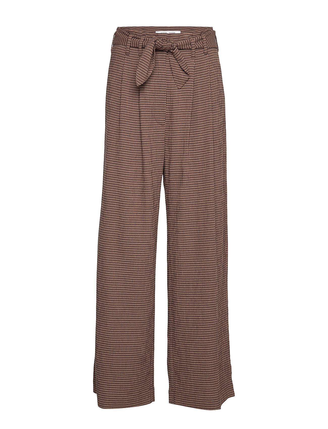 Samsøe & Samsøe Nellie trousers 11238 - ARGAN CHECK